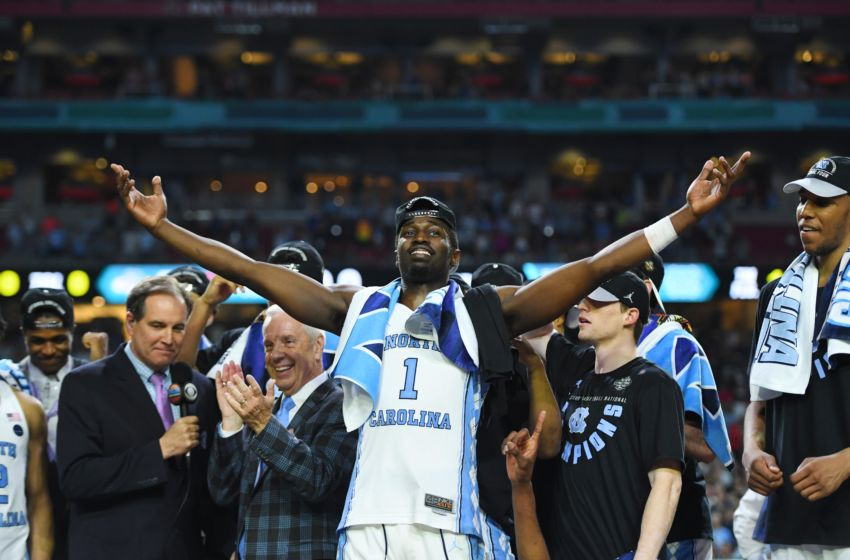 UNC Basketball: Tar Heels celebrate National Championship ...
