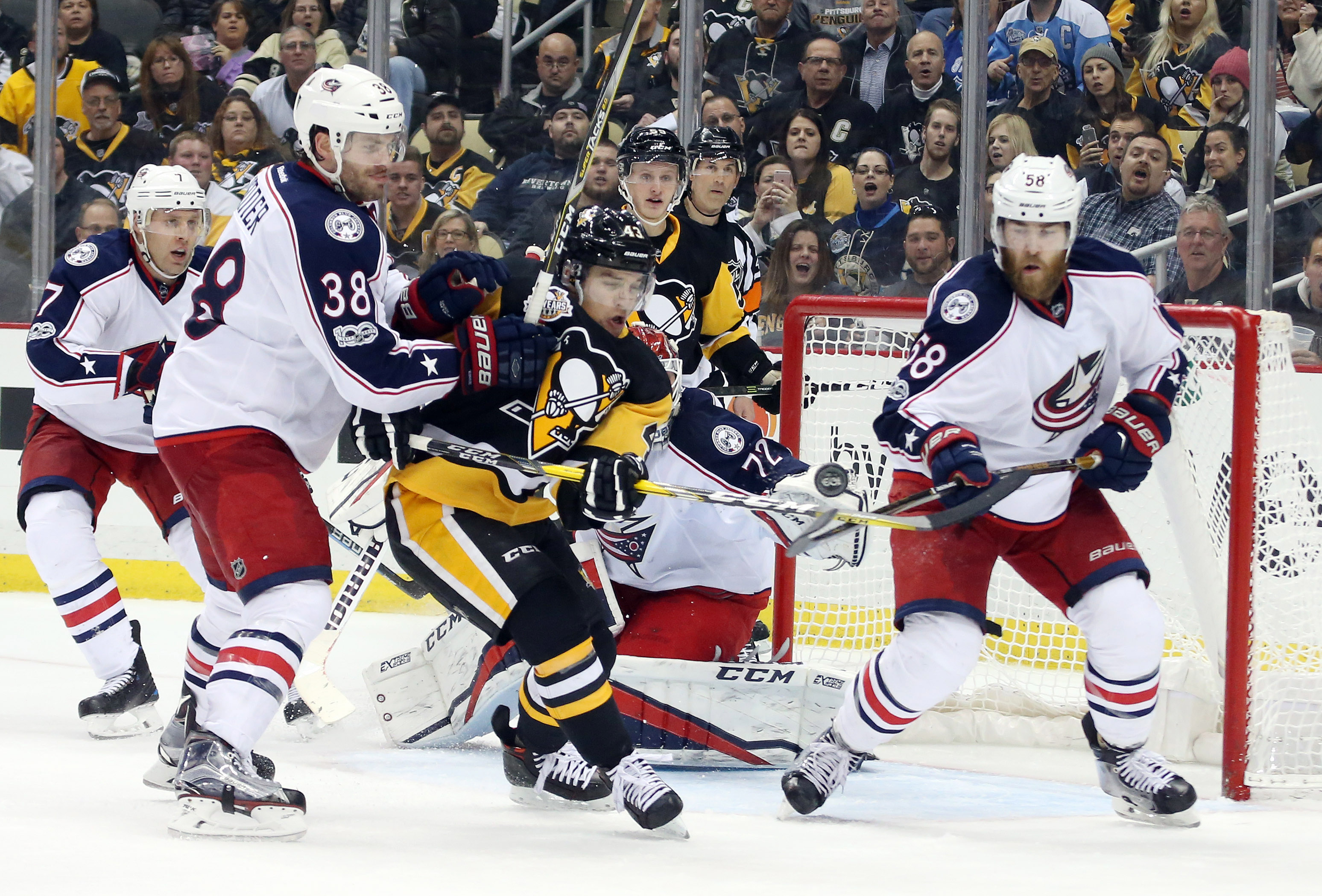 NHL playoffs 2017: Penguins vs. Blue Jackets TV schedule