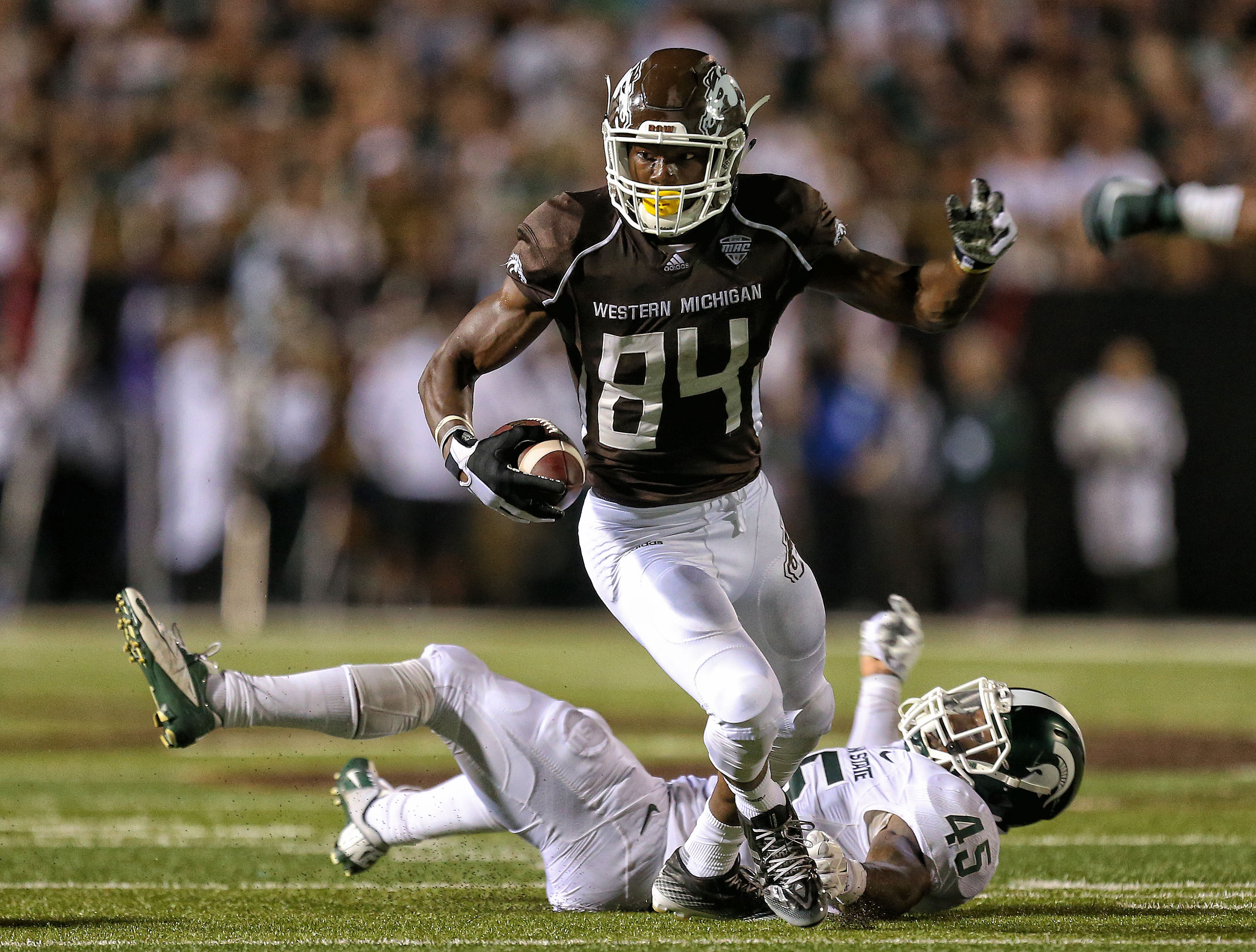 NCAA Football: Michigan State at Western Michigan