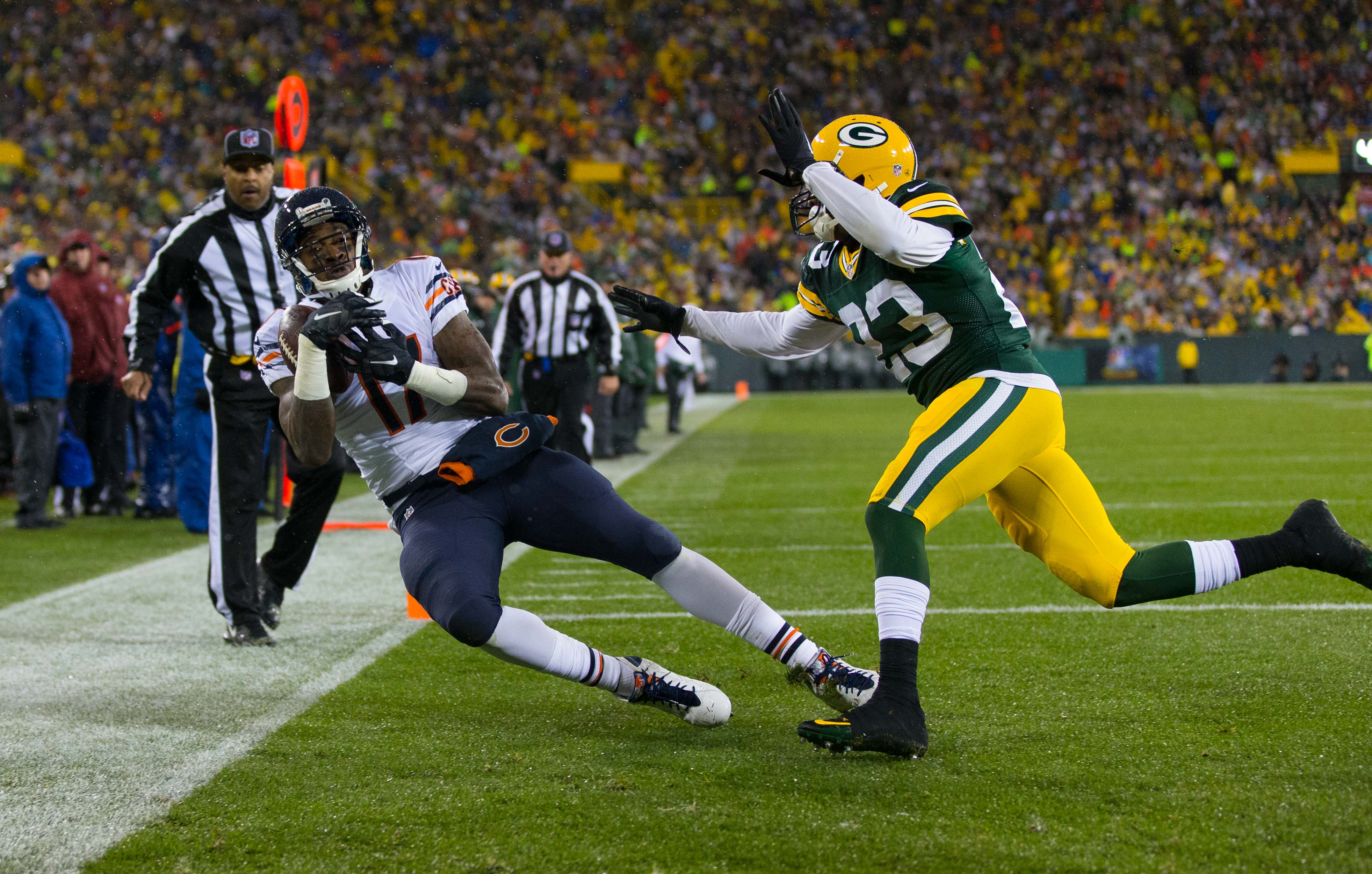 Nf Nfl Free Agents 2016 Rankings - Nov 26 2015 green bay wi usa chicago bears wide receiver
