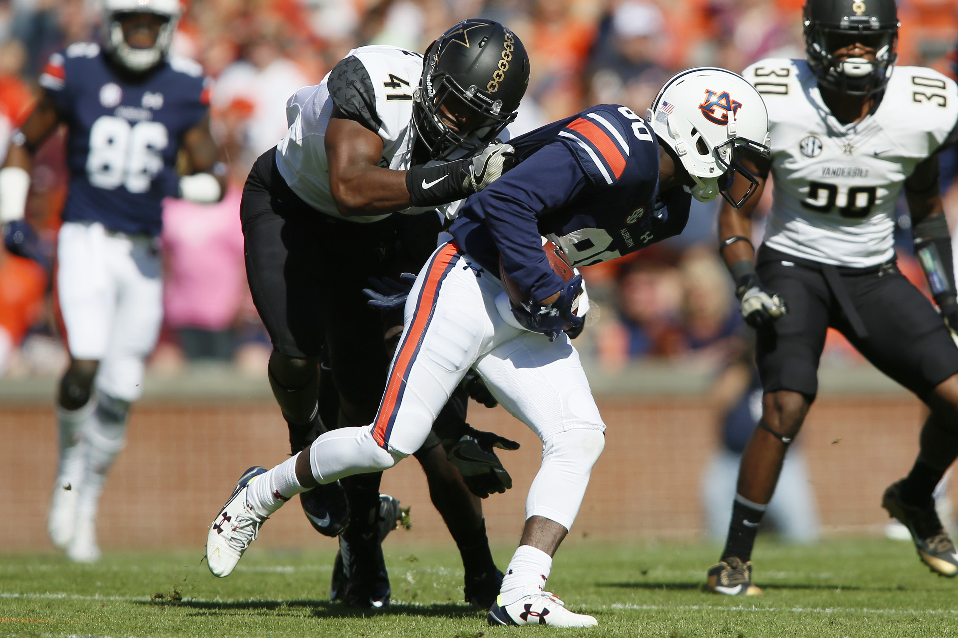 NCAA Football: Vanderbilt at Auburn