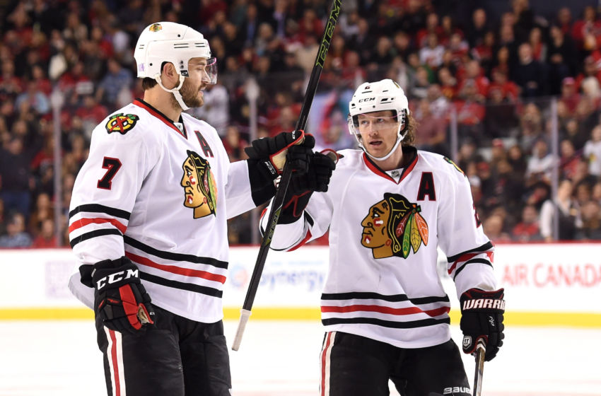 NHL: Chicago Blackhawks at Calgary Flames