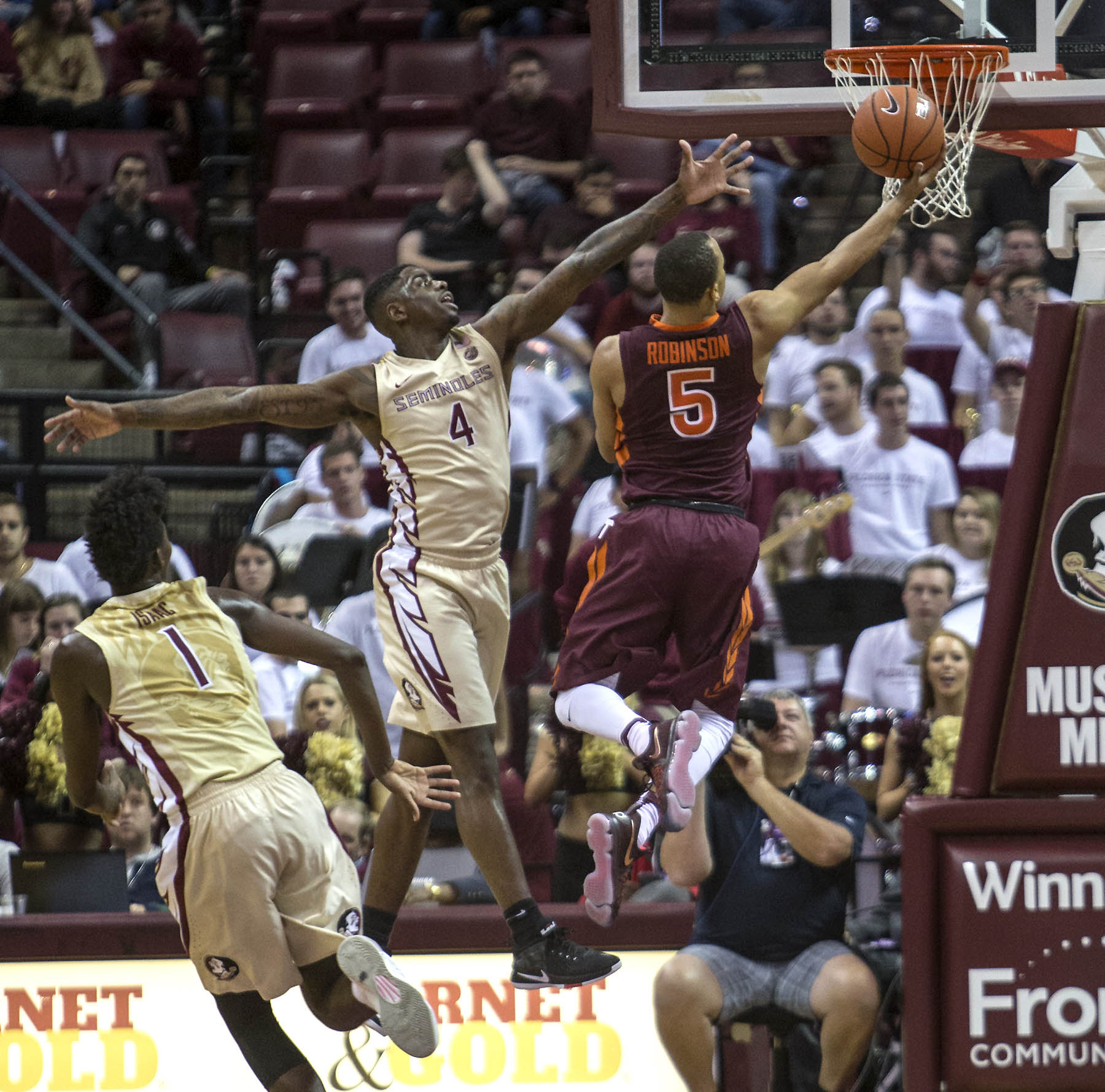 NCAA Basketball: Virginia Tech at Florida State