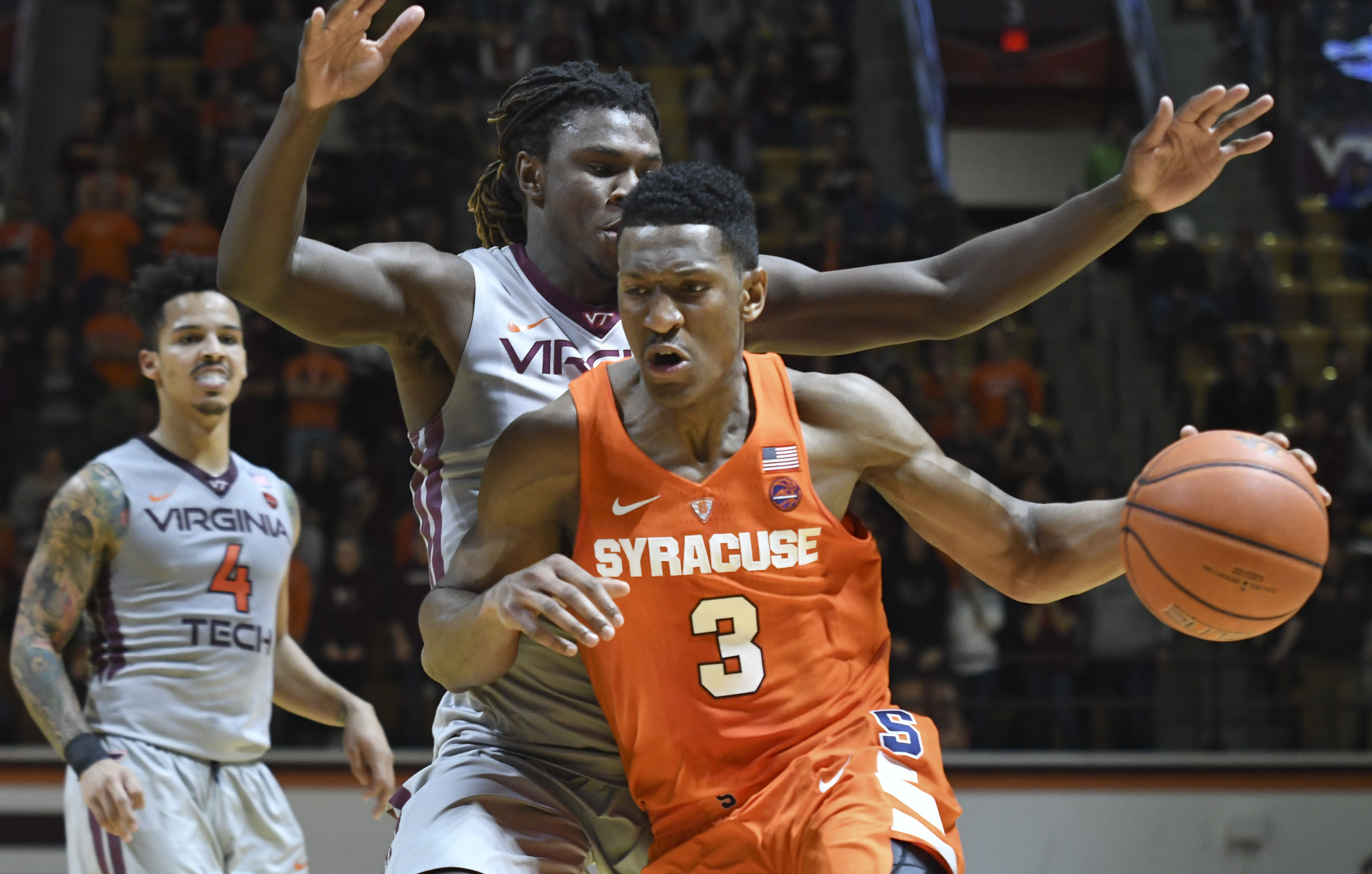 NCAA Basketball: Syracuse at Virginia Tech