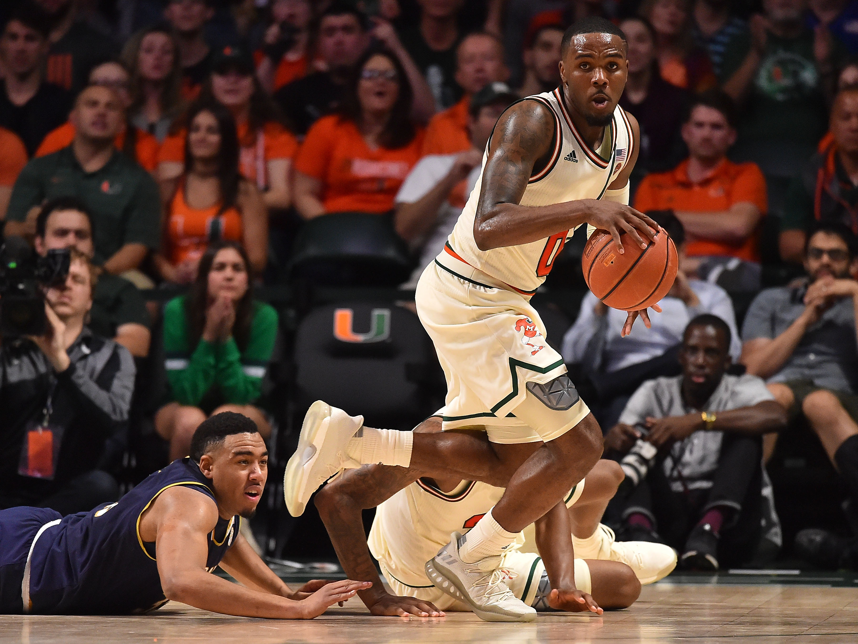 NCAA Basketball: Notre Dame at Miami
