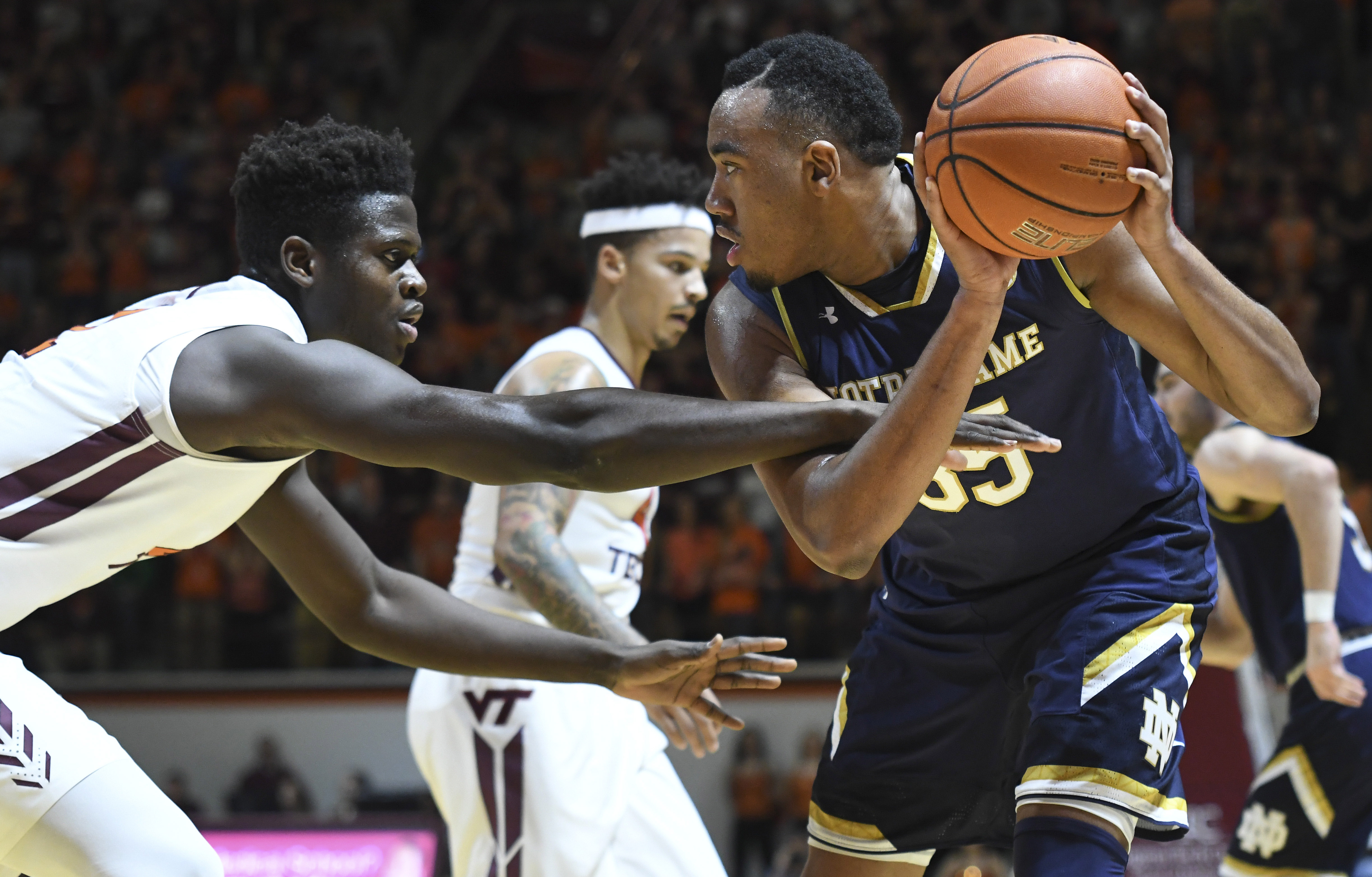 NCAA Basketball: Notre Dame at Virginia Tech