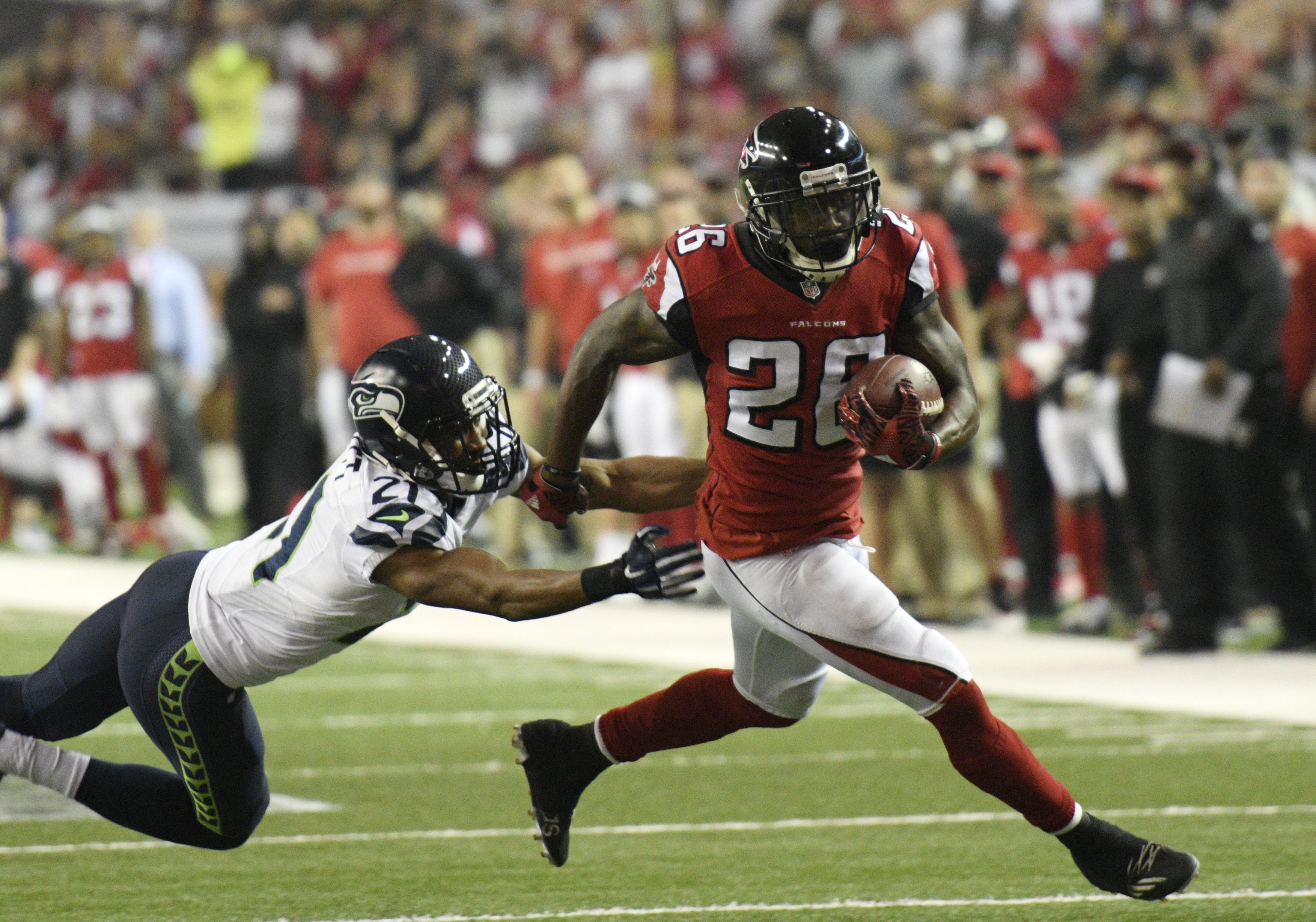 NFL: NFC Divisional-Seattle Seahawks at Atlanta Falcons