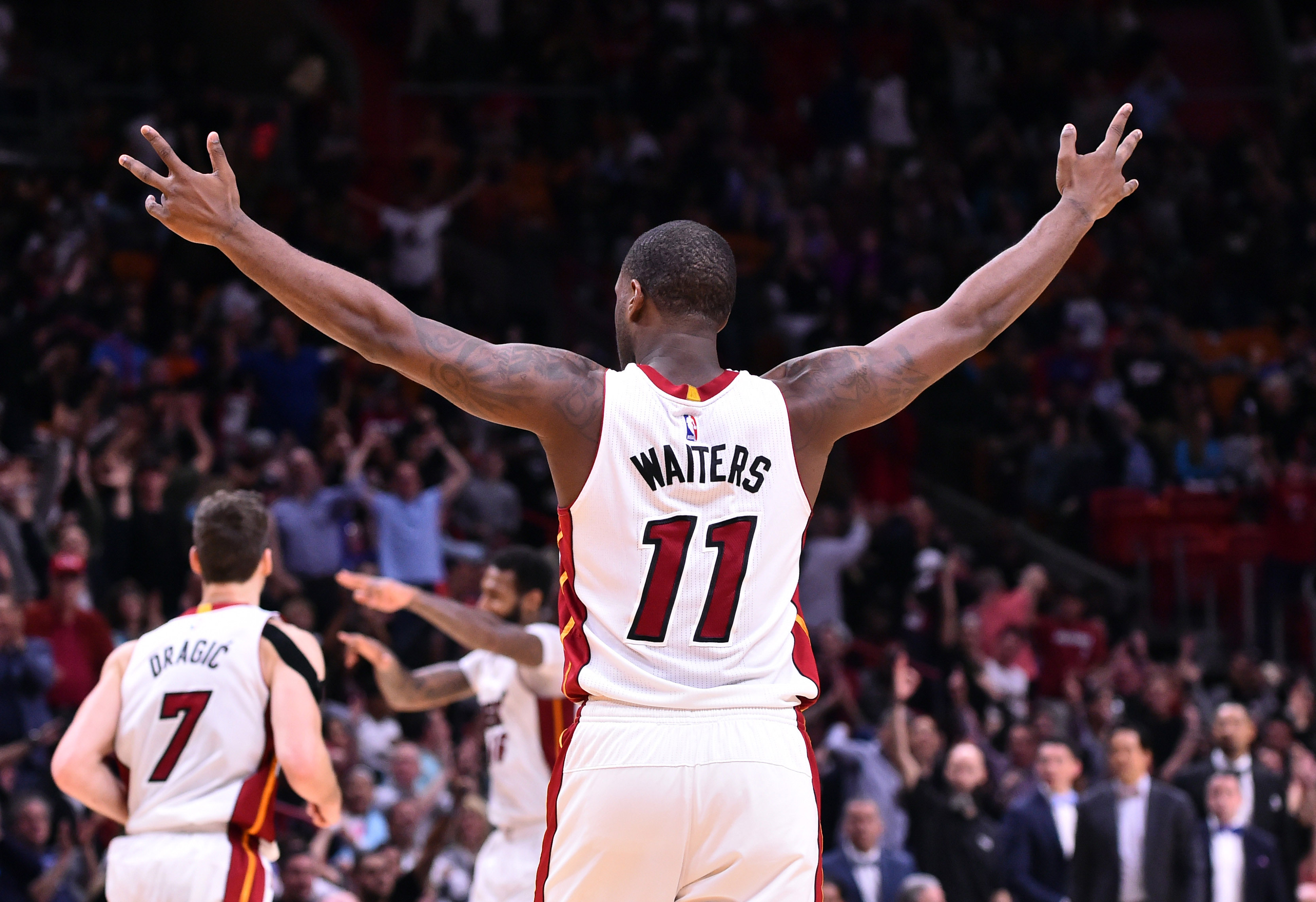 Miami heat basket - Player Exit Review Dion Waiters Enjoys Career Year With The Miami Heat