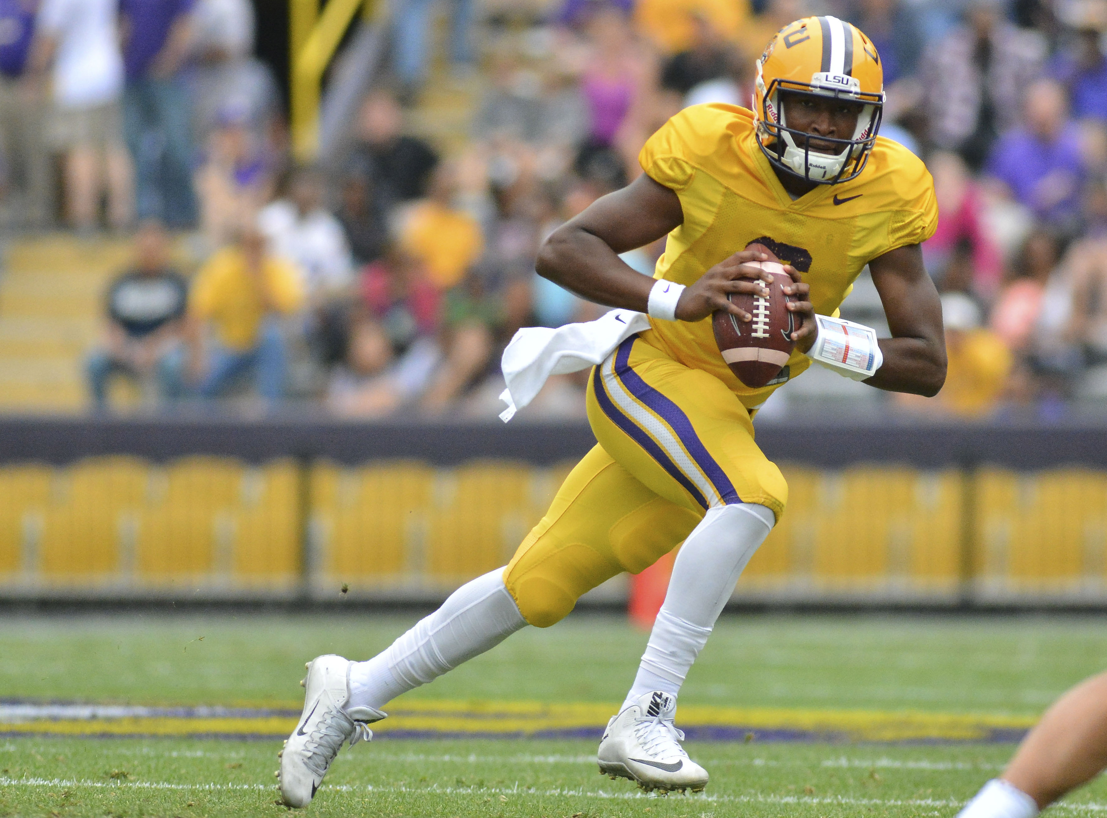 UNC Football Recruiting: Former LSU QB Brandon Harris to Visit Tar Heels