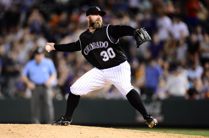 Jason Motte of the Colorado Rockies