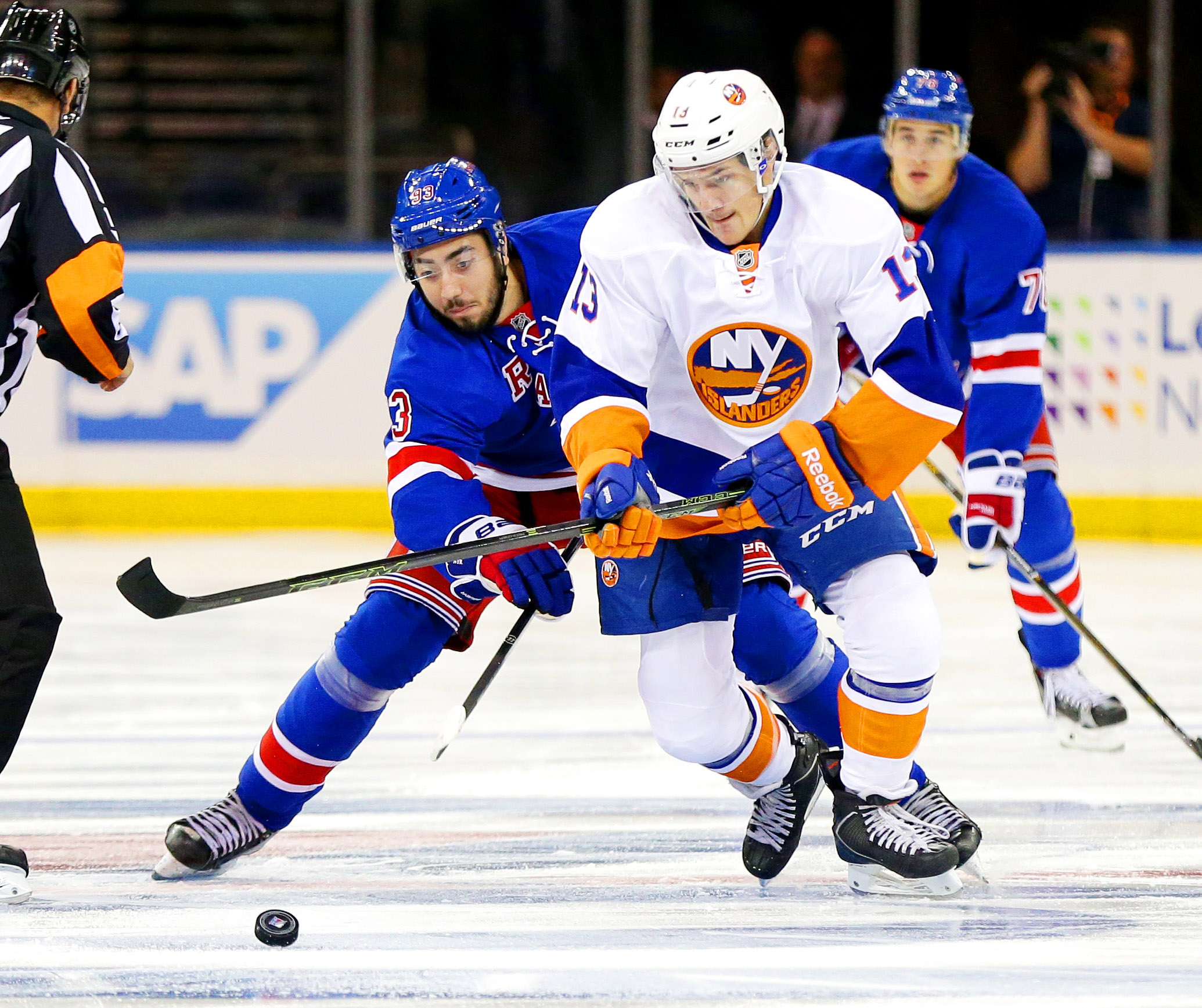 9570532-nhl-preseason-new-york-islanders-at-new-york-rangers
