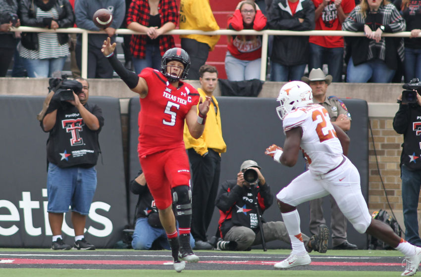 NCAA Football: Texas at Texas Tech