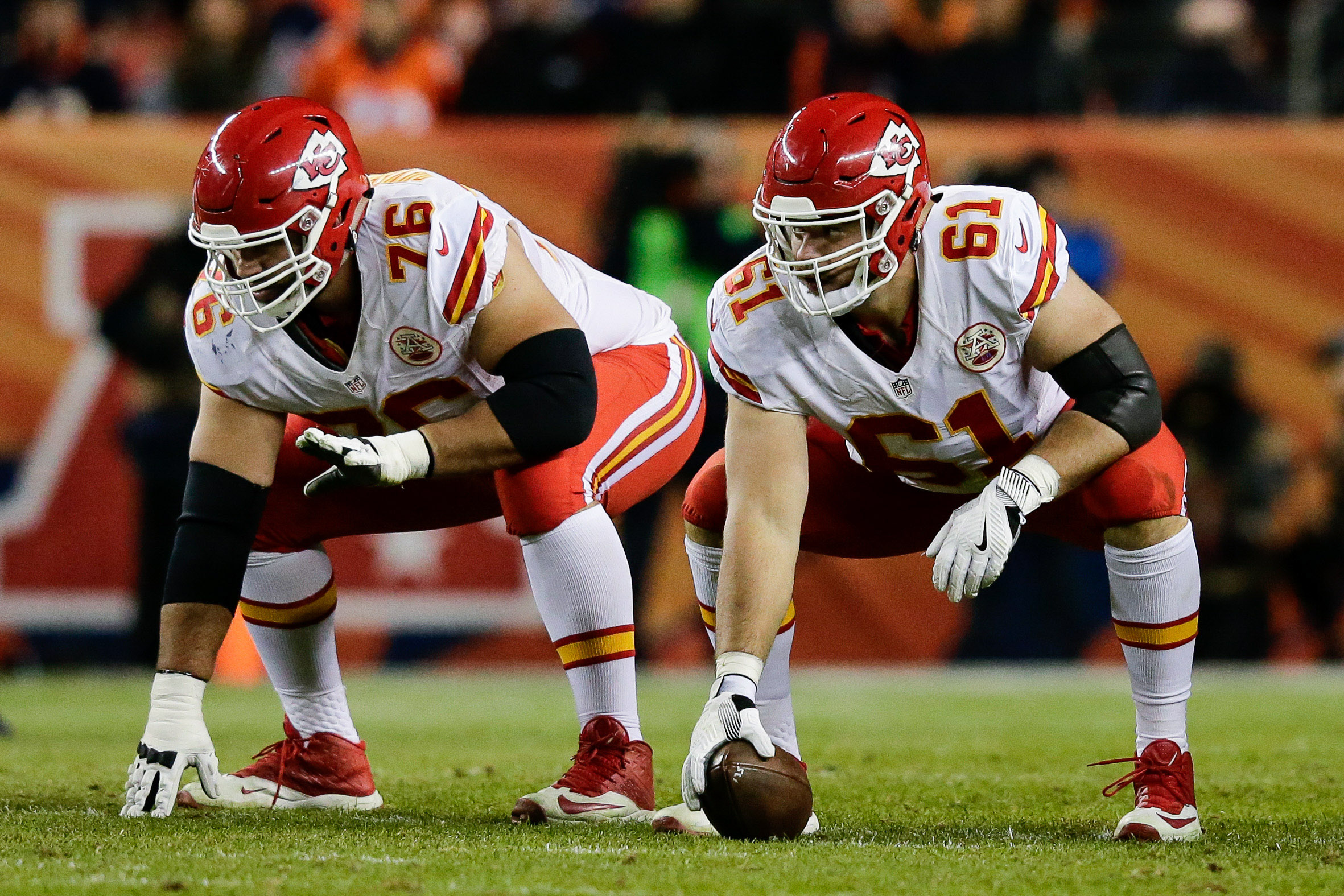closer look at the Kansas City Chiefs interior offensive line