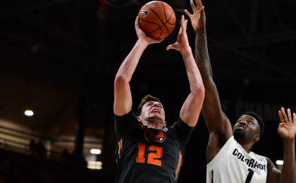 NCAA Basketball: Oregon State at Colorado