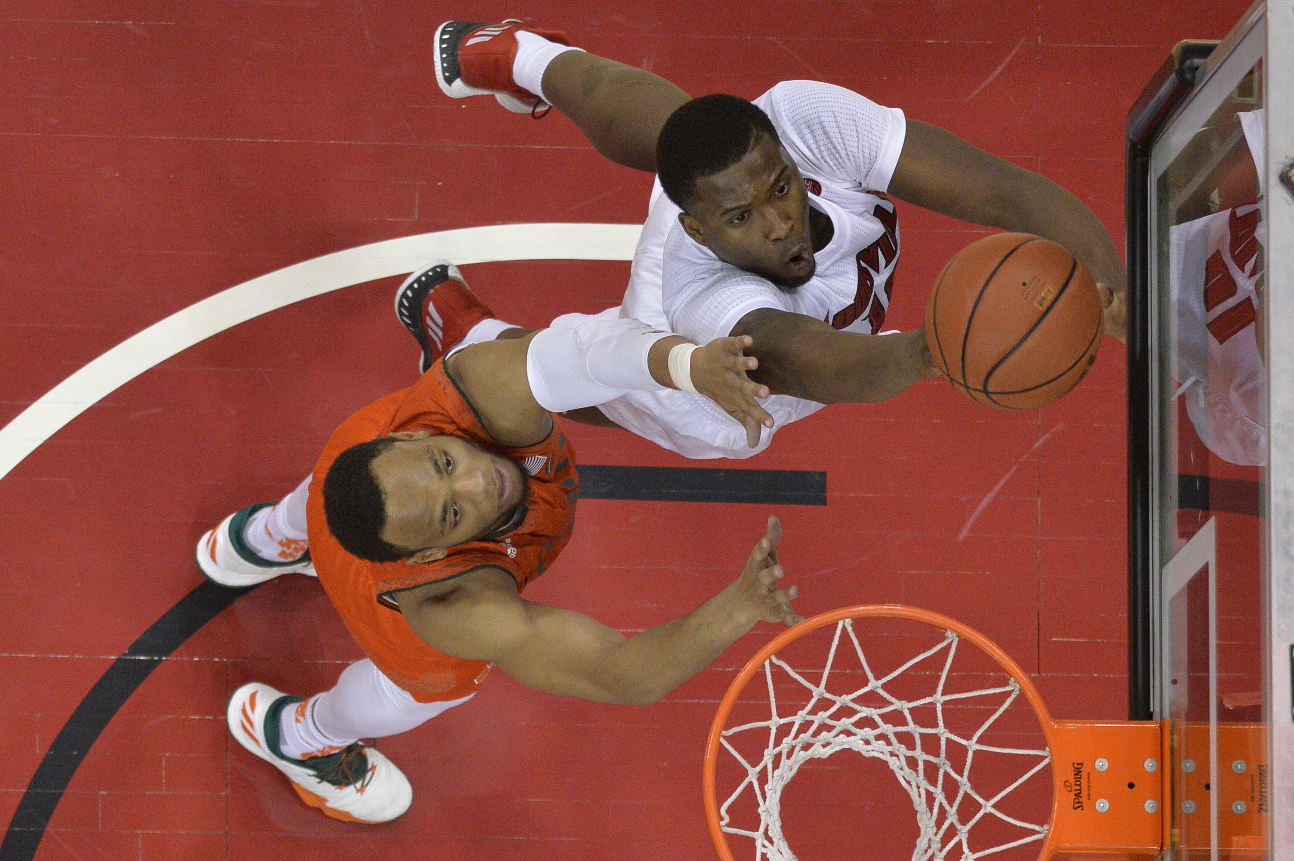 NCAA Basketball: Miami at Louisville