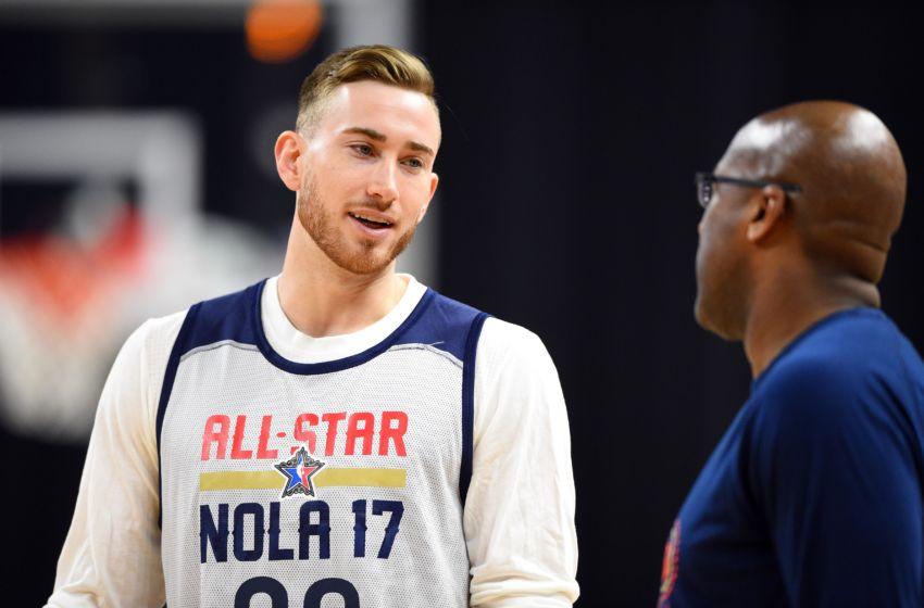 Utah Jazz: Gordon Hayward Falls to Porzingis in Skills ...