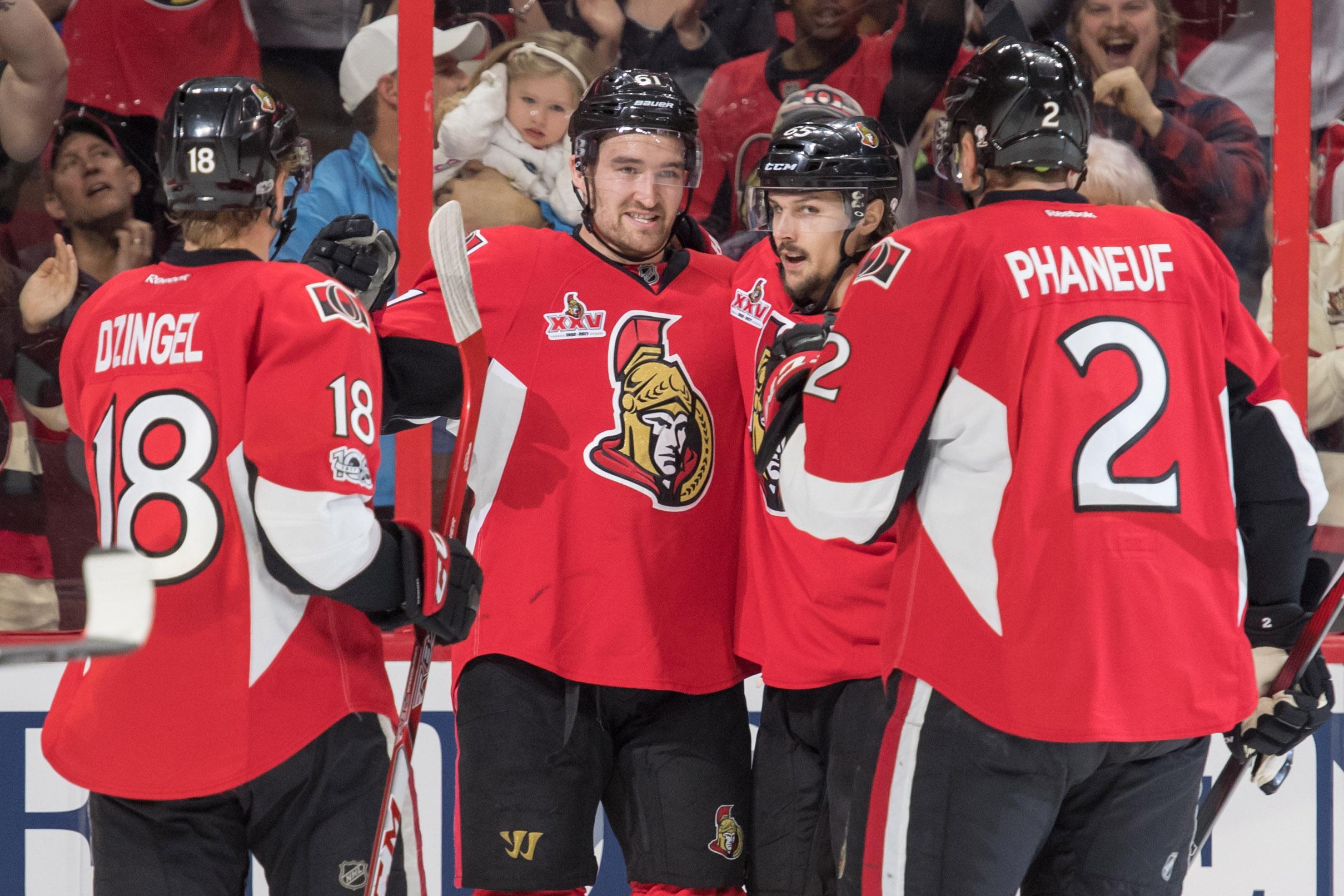Ottawa Senators: Tough Four Game Road Trip Ahead
