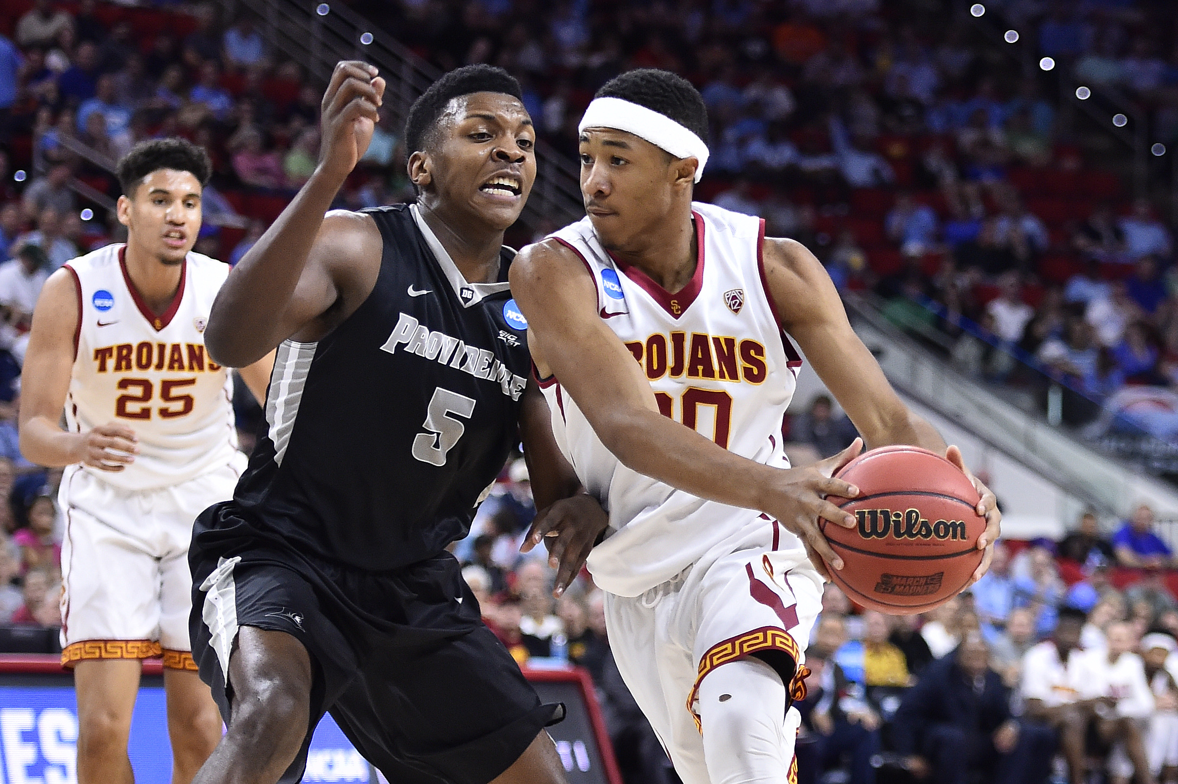 9192974-ncaa-basketball-ncaa-tournament-first-round-providence-vs-southern-california
