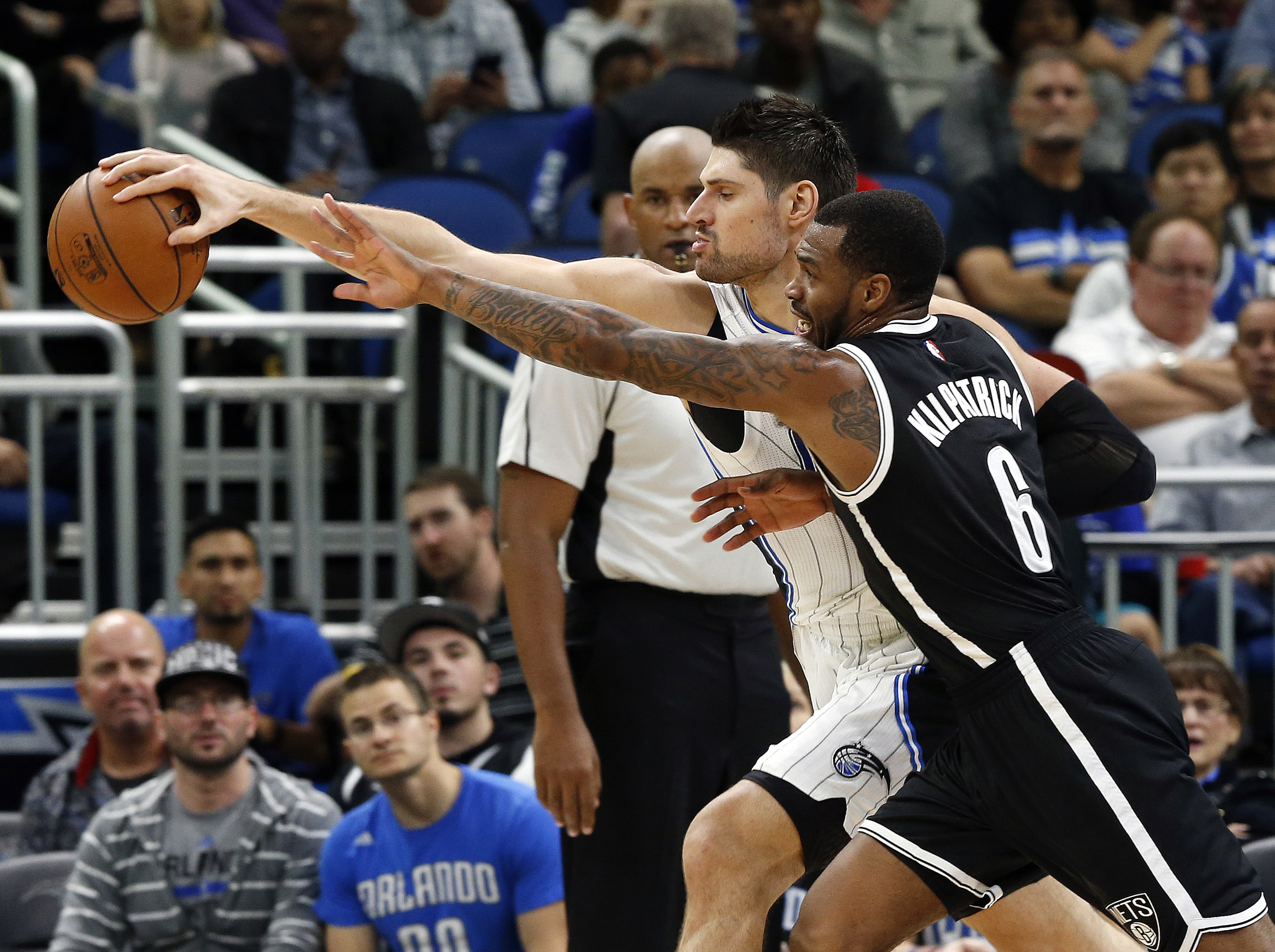 Lopez leads Nets over Magic, 121-111