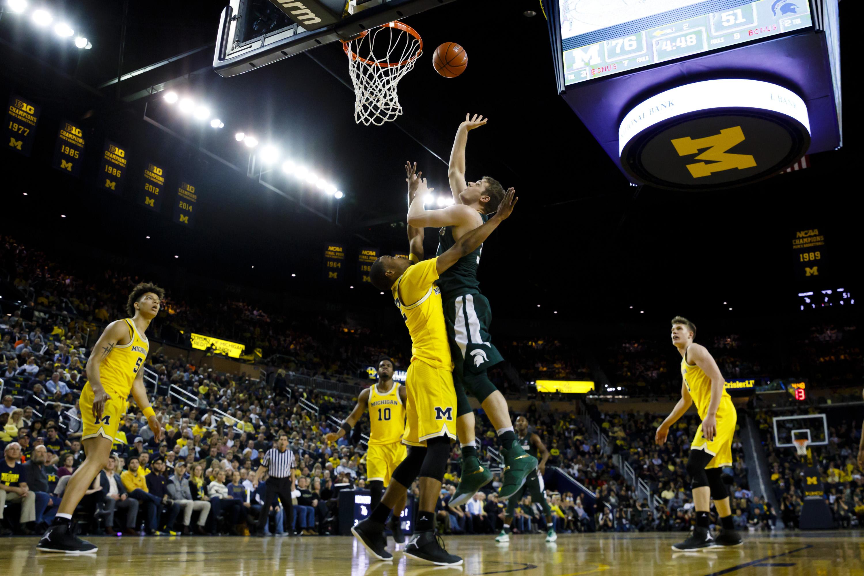 NCAA Tournament Bracket: Michigan #7 Seed, Michigan State #9