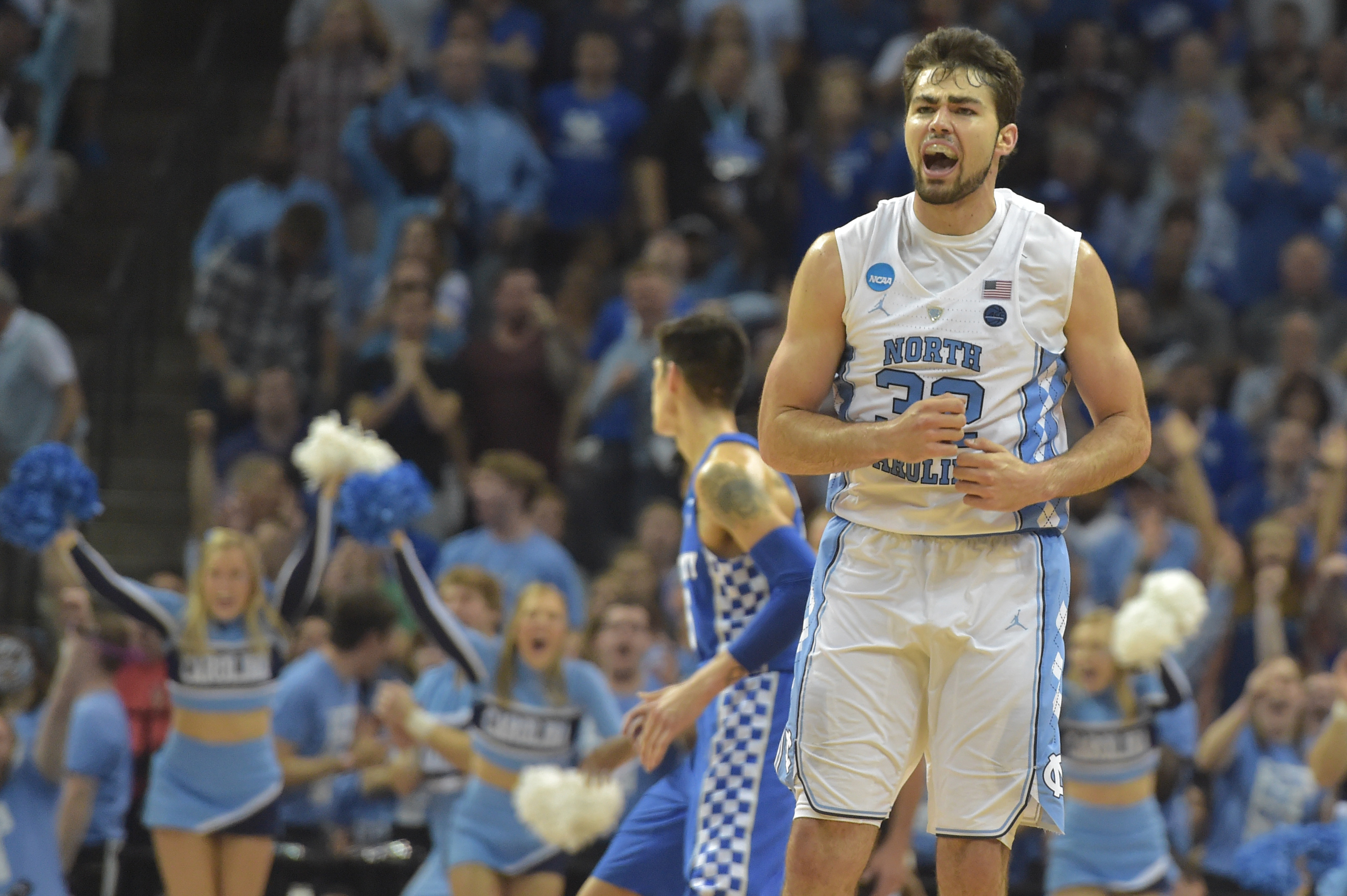 NCAA Tournament: North Carolina/Oregon Final Four hype video