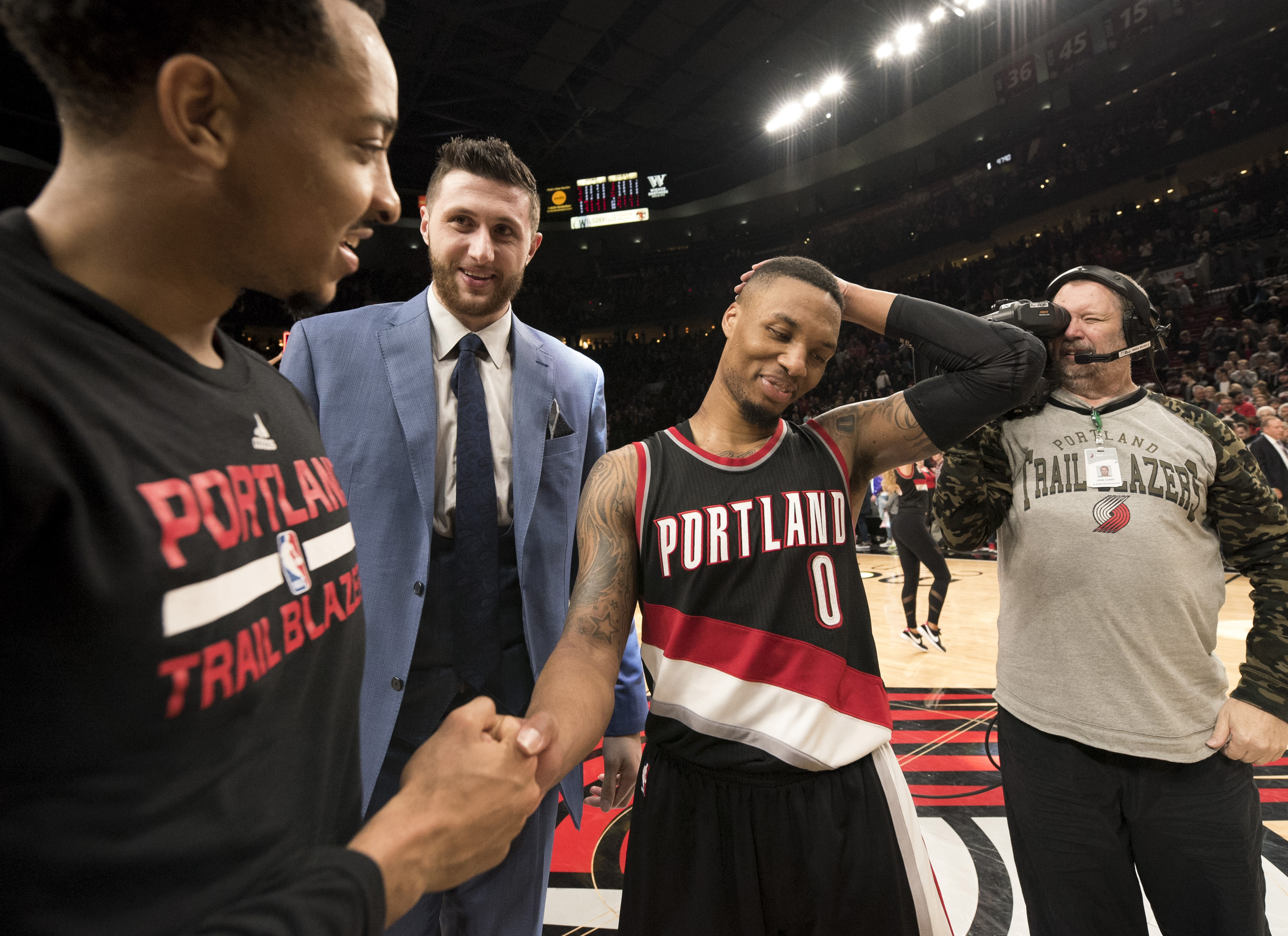 Portland Trail Blazers: 2016-17 Regular Season Team Awards
