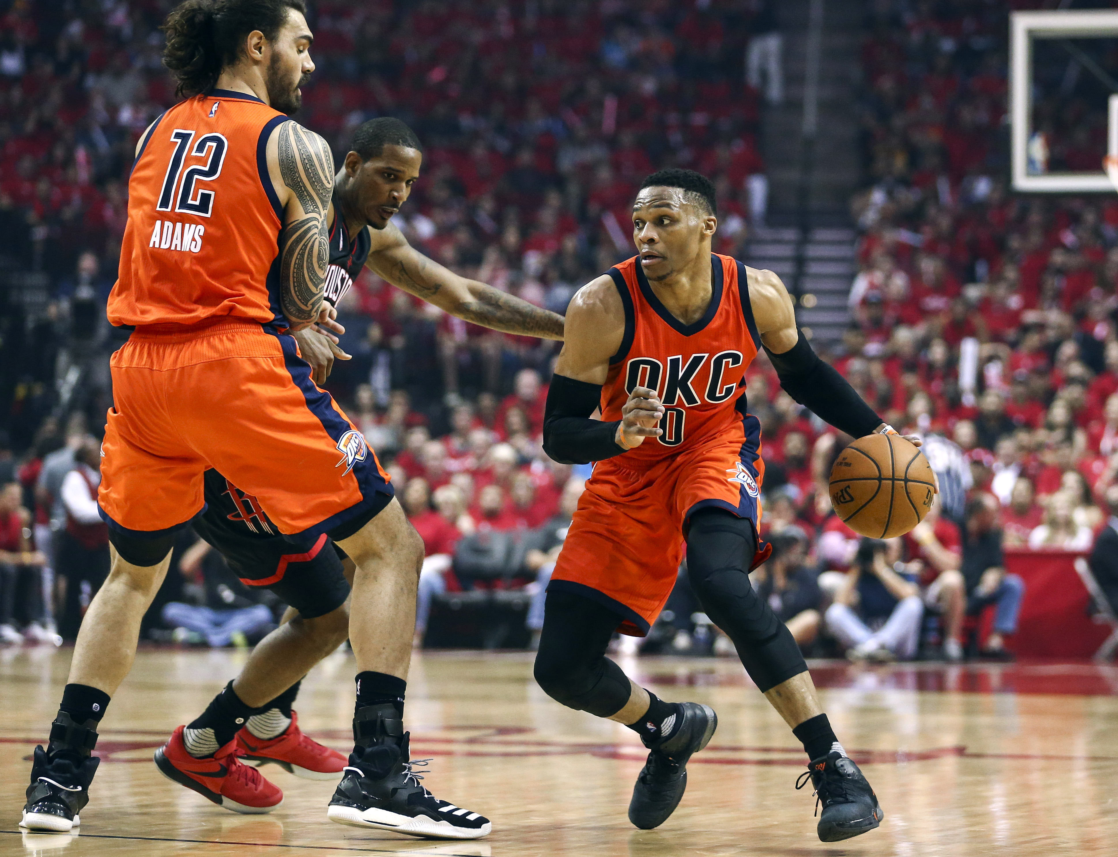 Rockets overcome Westbrook's 51, take 2-0 lead over Thunder