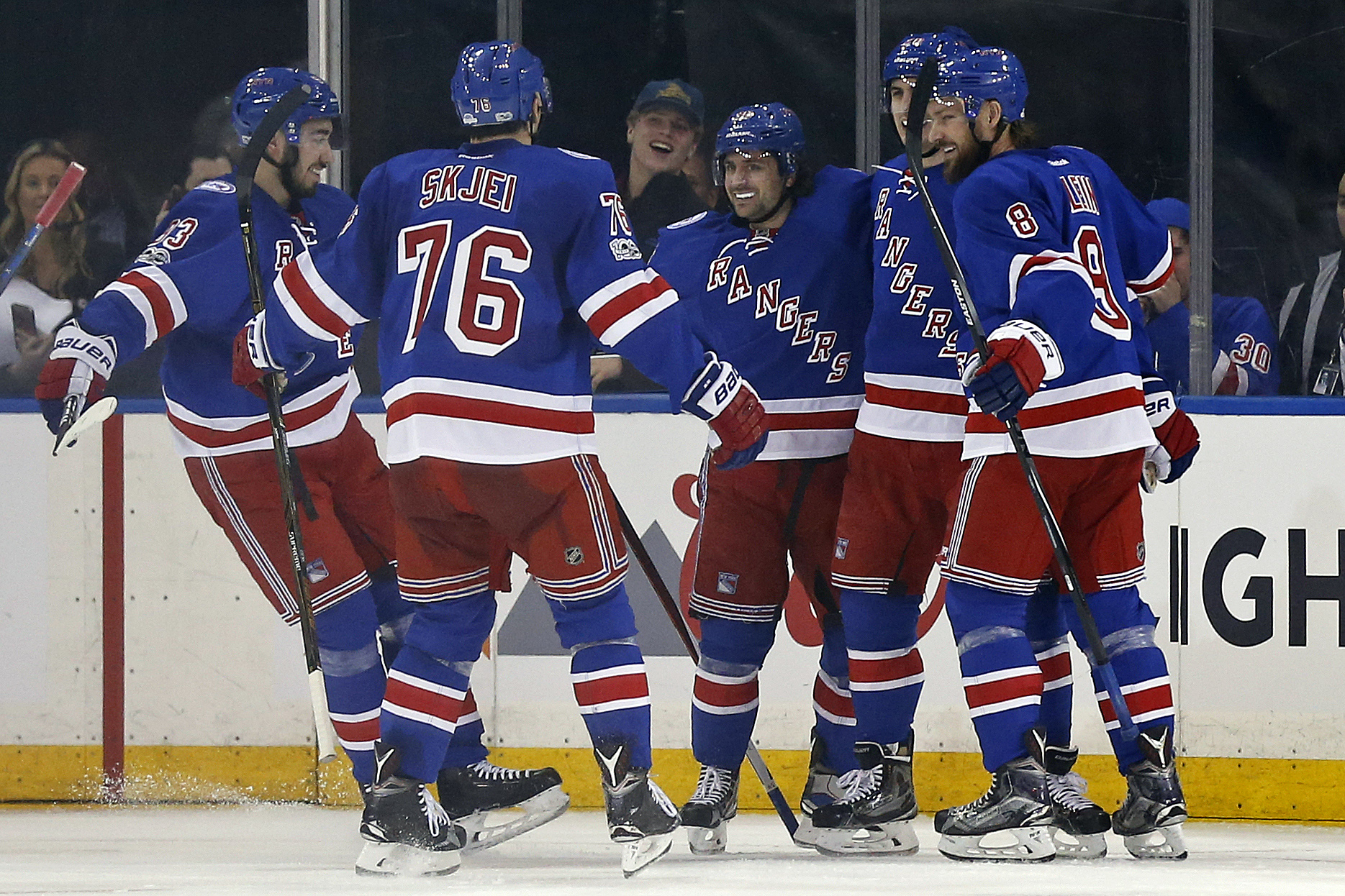 Lundqvist shuts down Habs as Rangers take Game 1