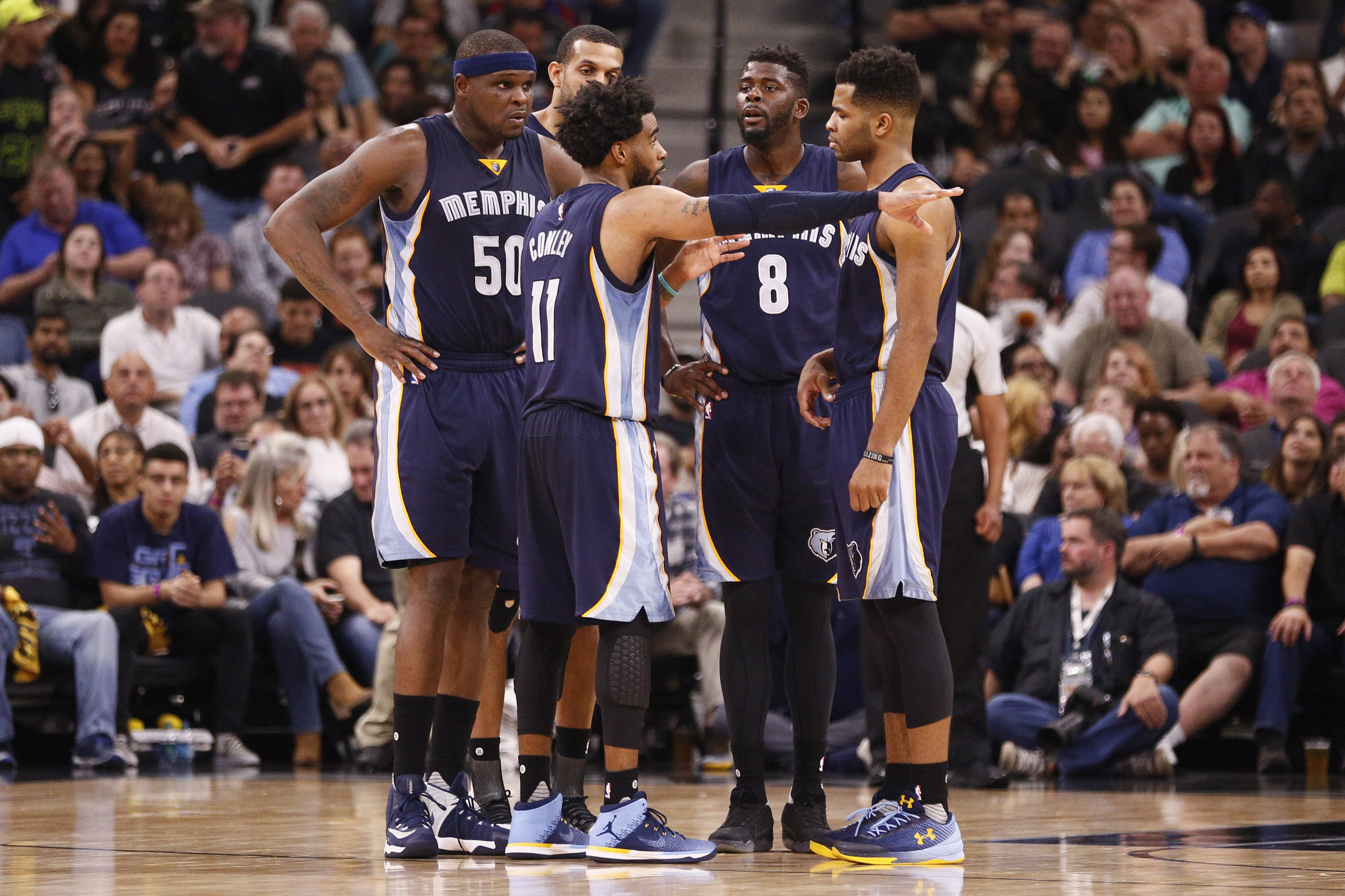 Memphis Grizzlies: Why It's Not Time To Blow It all Up