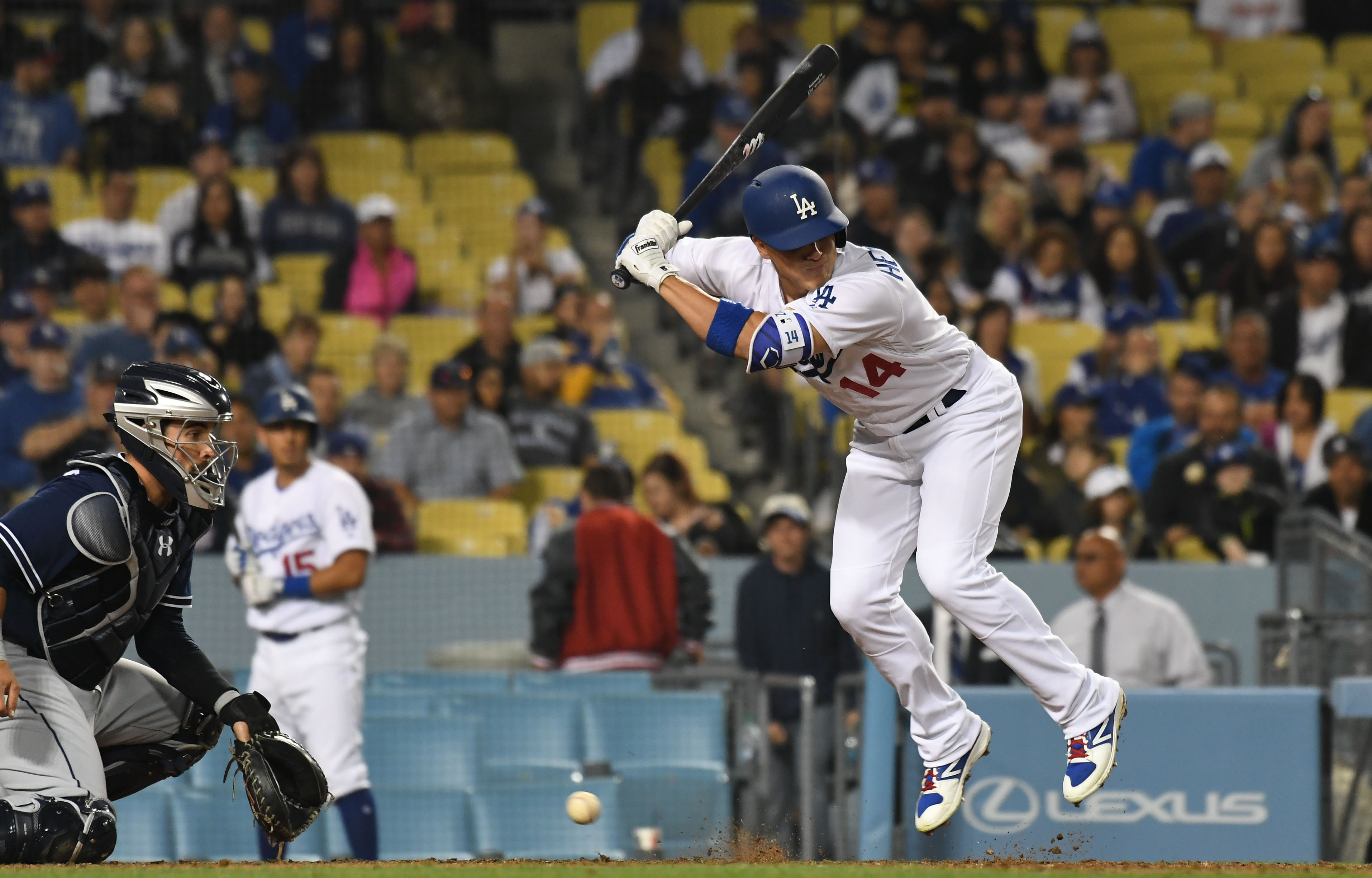 Hill starts strong, Puig homers and Dodgers beat Padres 3-1