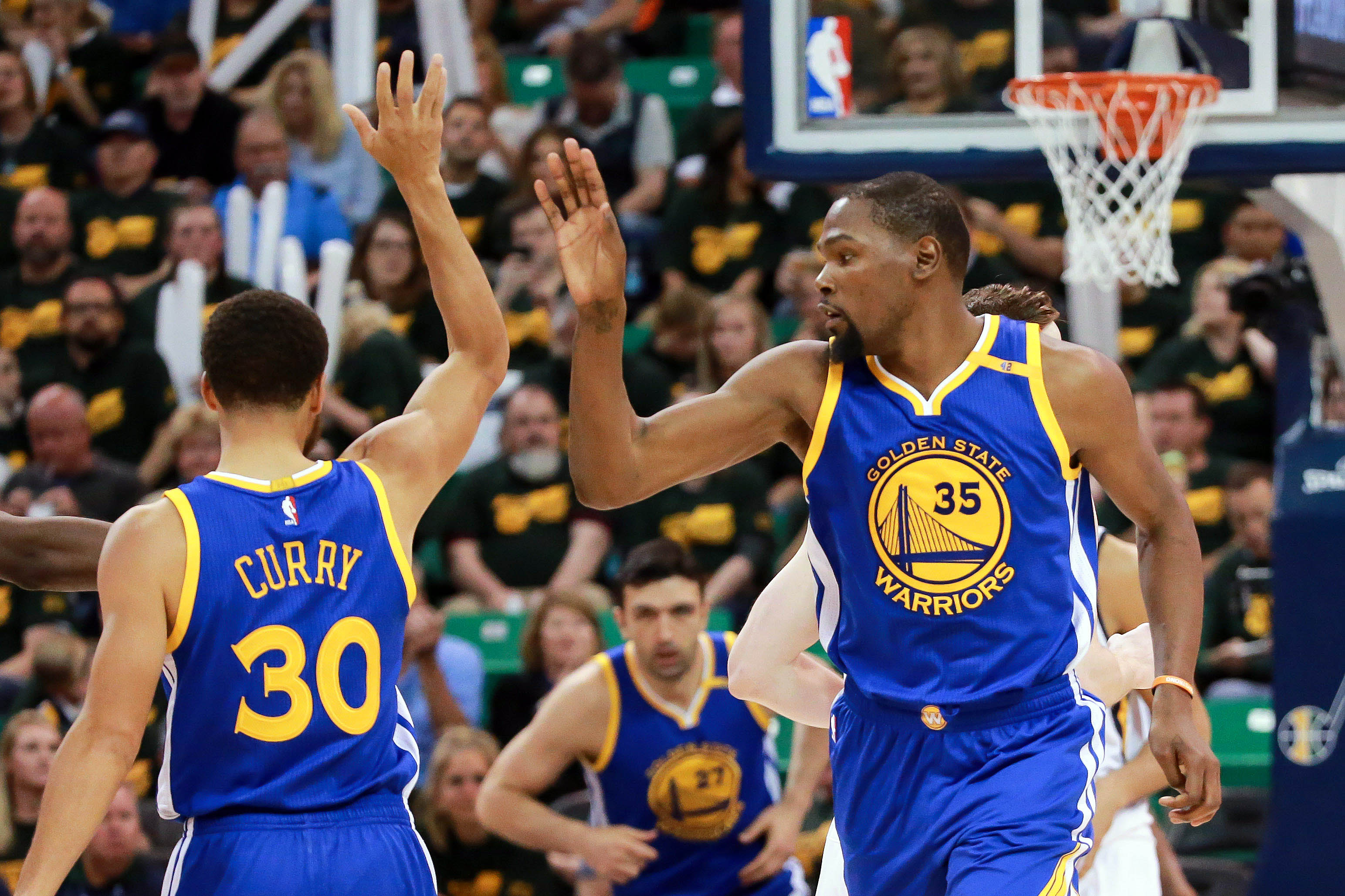 Golden State Warriors Signed Kevin Durant for Moments like ...