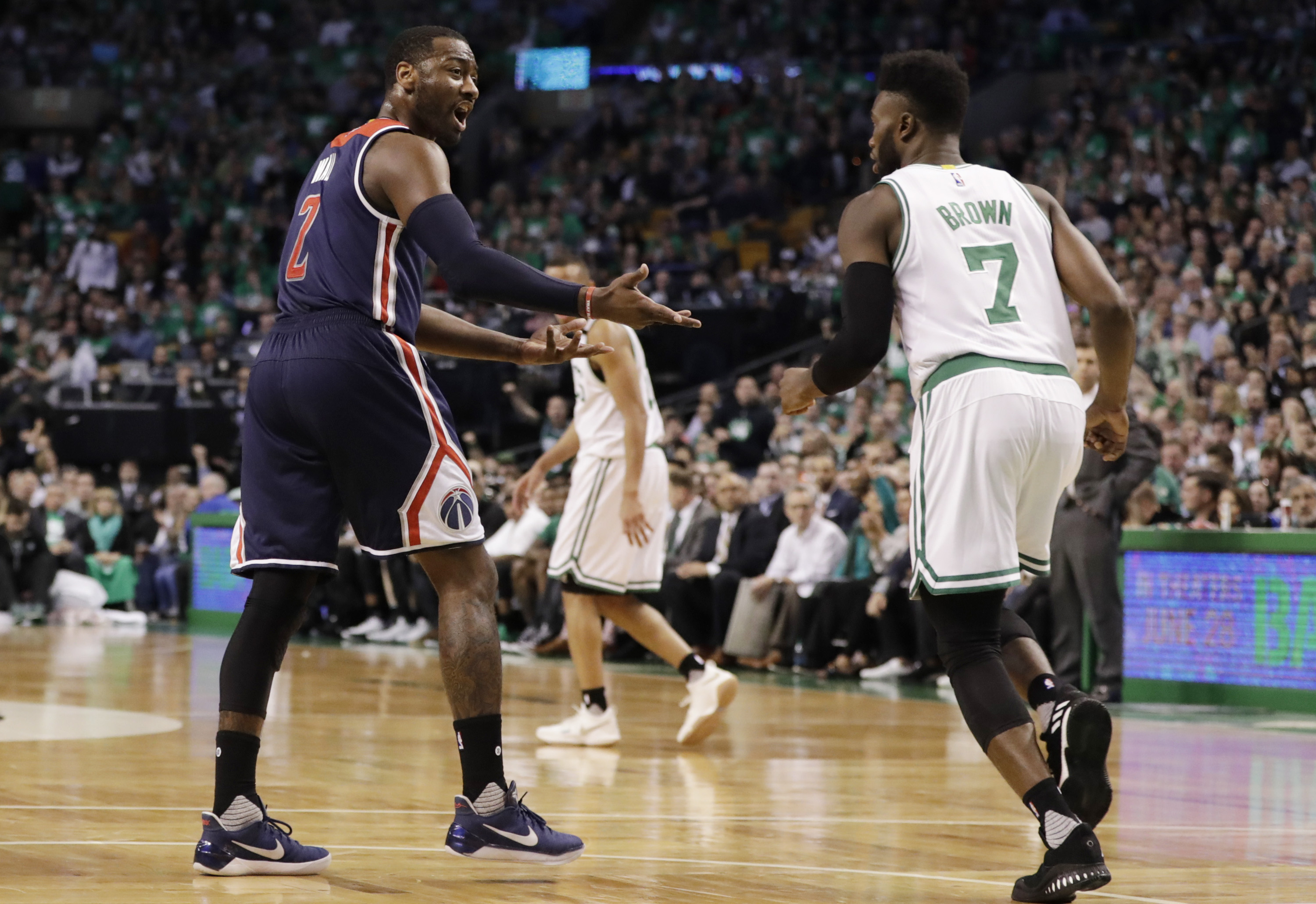 Celtics blow out Wizards 123-101
