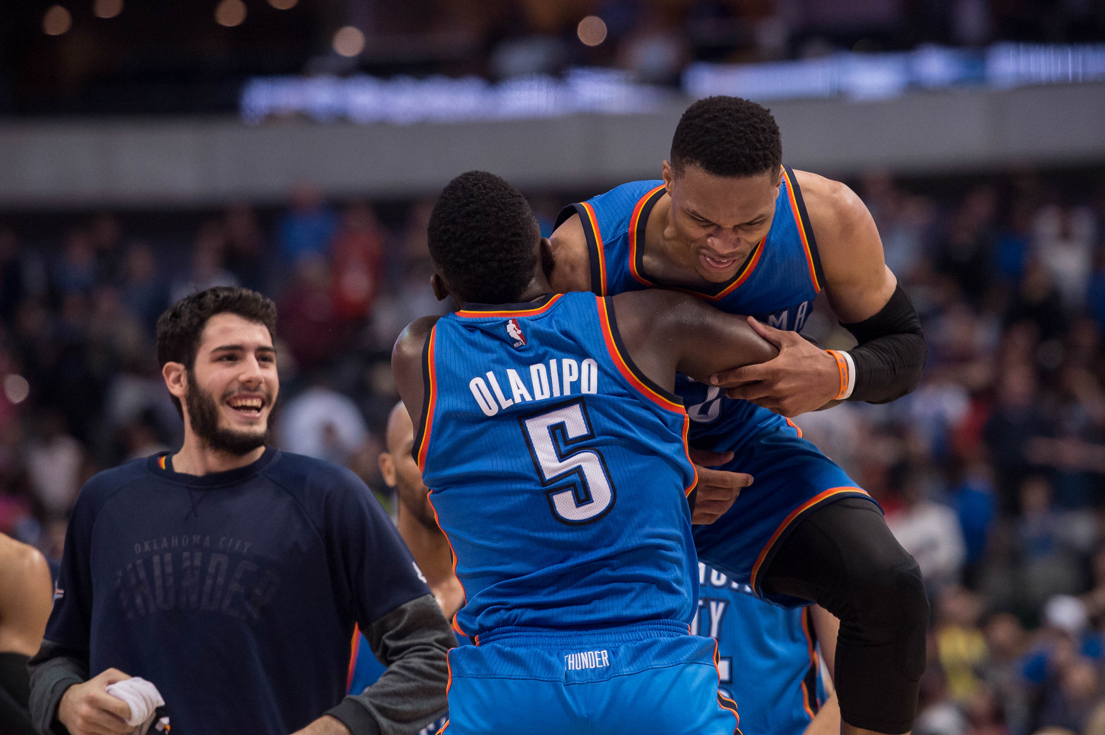 Okc Thunder In The News Oladipo S First Camp Kanter