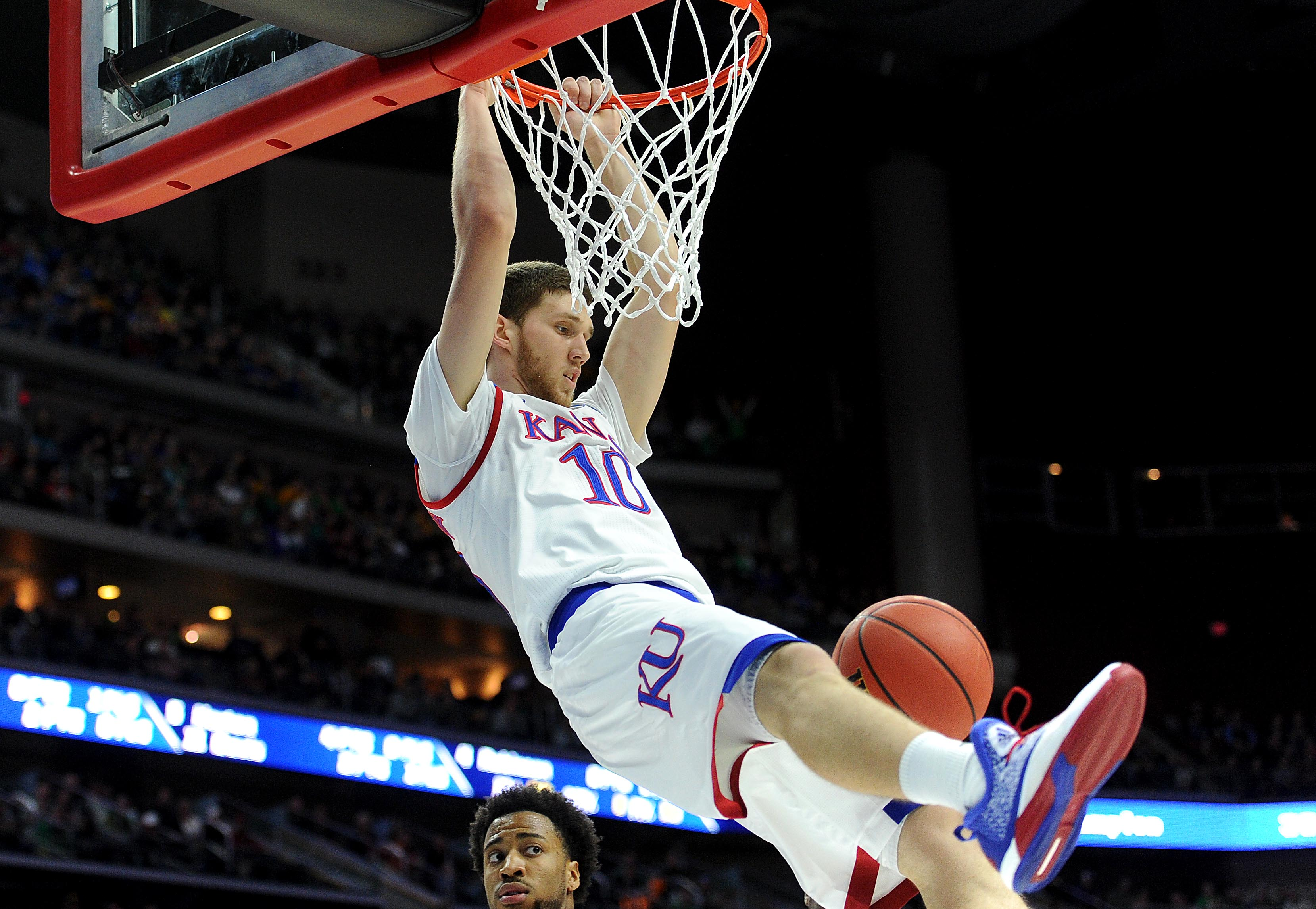 KU Basketball: Multiple factors may lead Svi Mykhailiuk ...