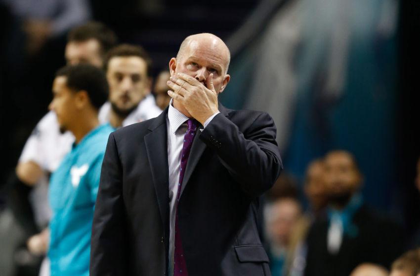 Nov 18, 2016; Charlotte, NC, USA; Charlotte Hornets head coach Steve ...