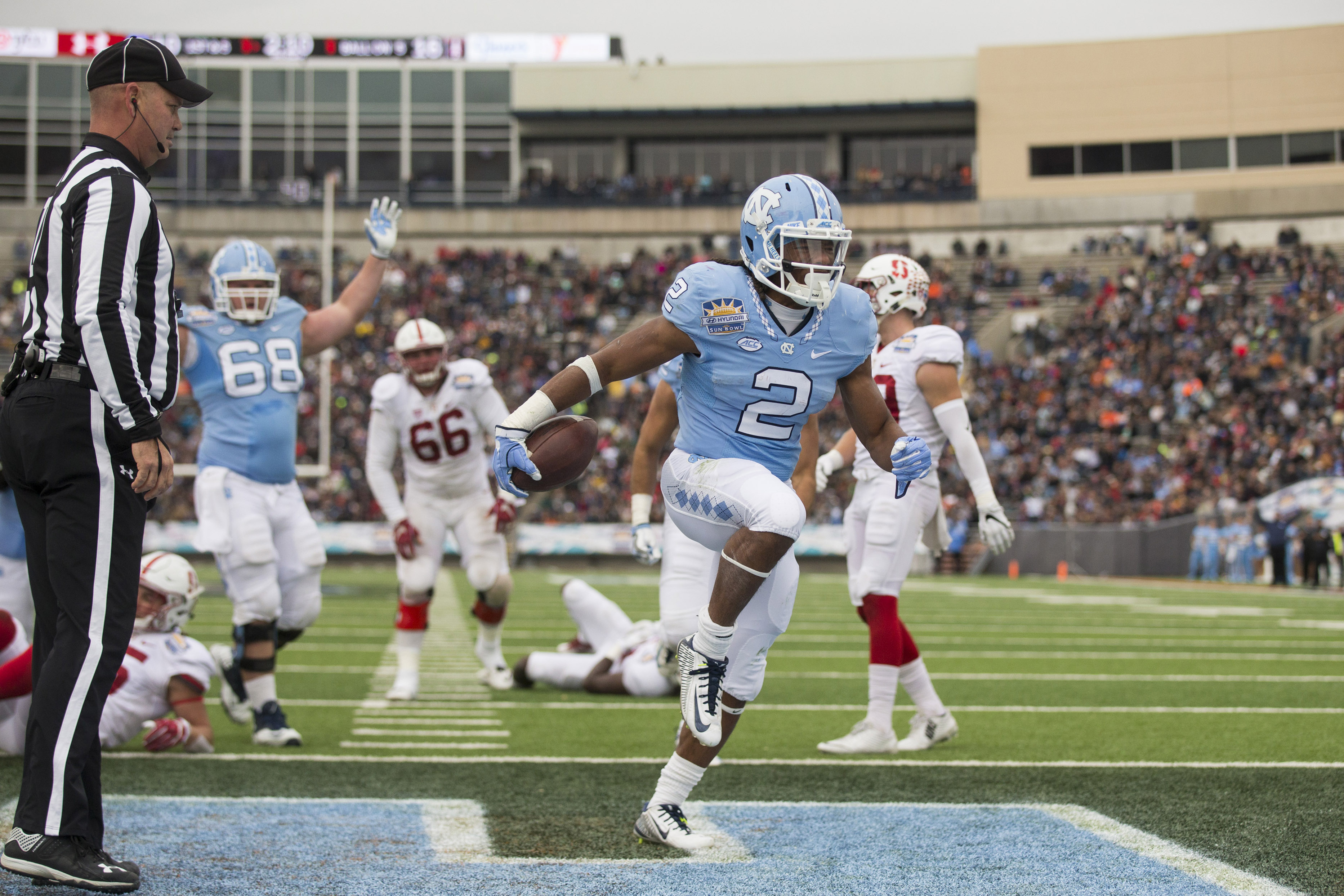 Top UNC Football players for 2017: No. 16 Michael Carter