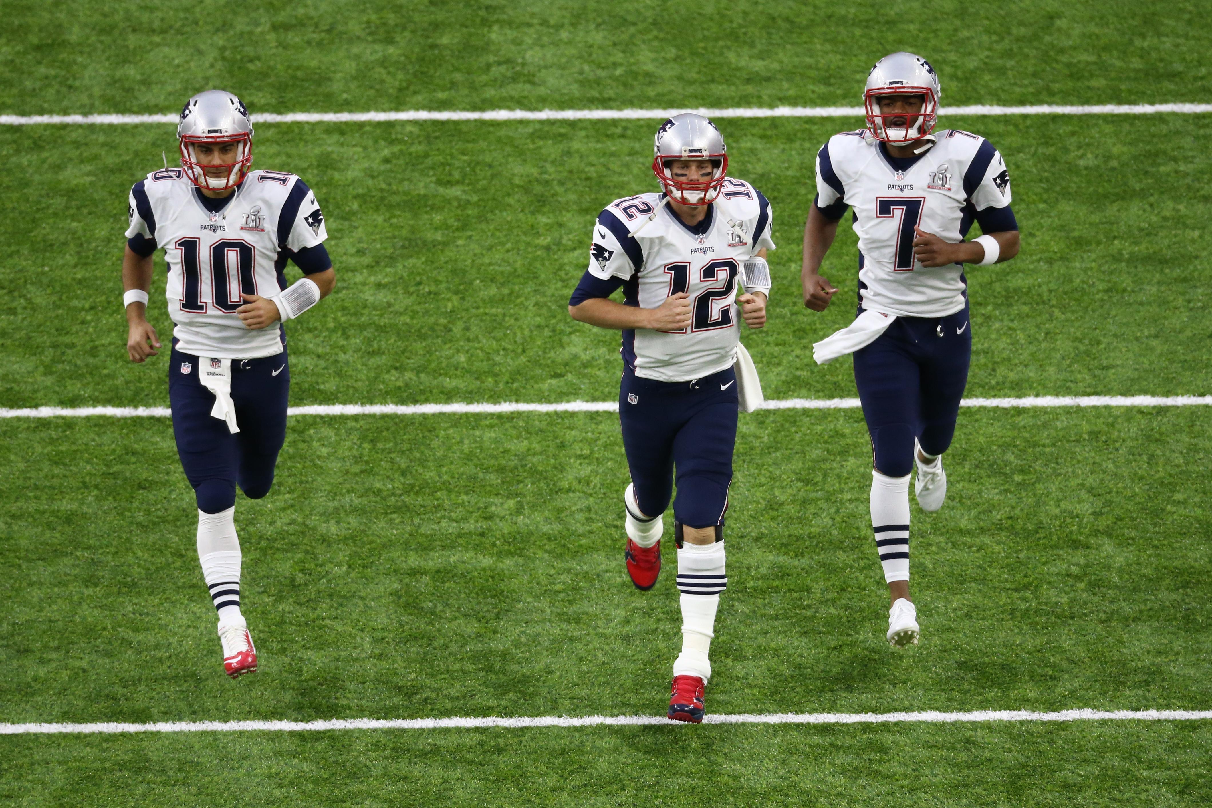 New England Patriots Roster Recap Quarterbacks