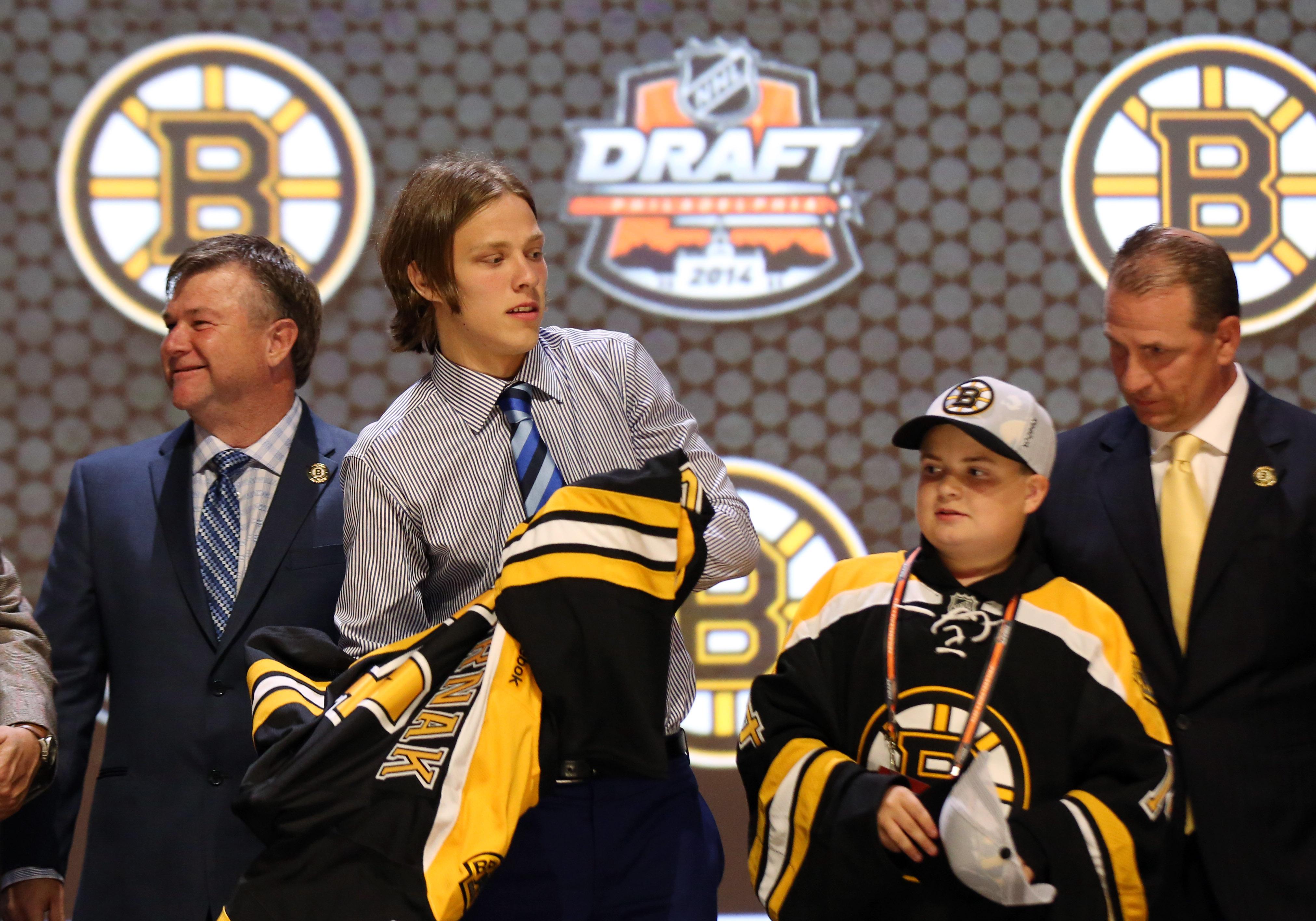 nhl entry draft start time and boston bruins mock draft
